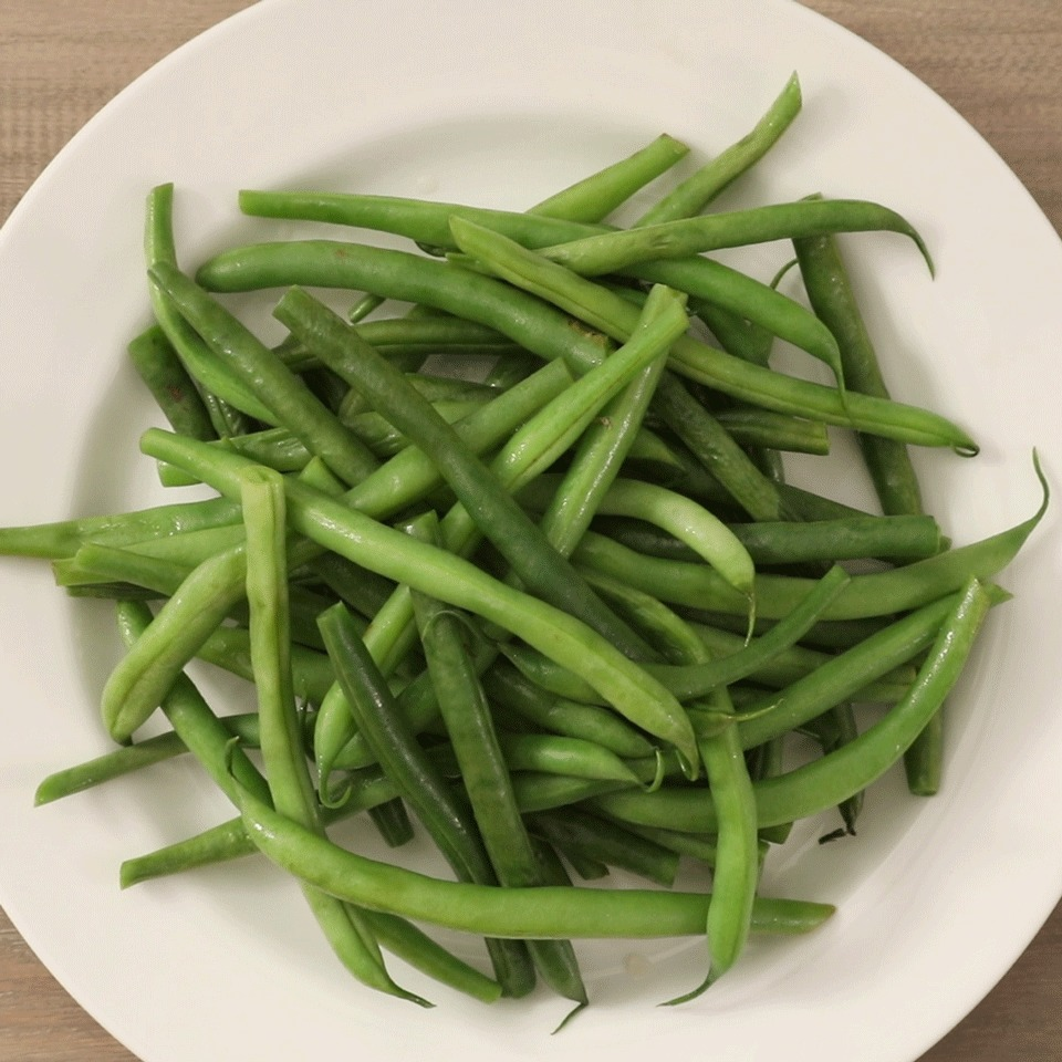 Microwaved Fresh Green Beans EatingWell Test Kitchen