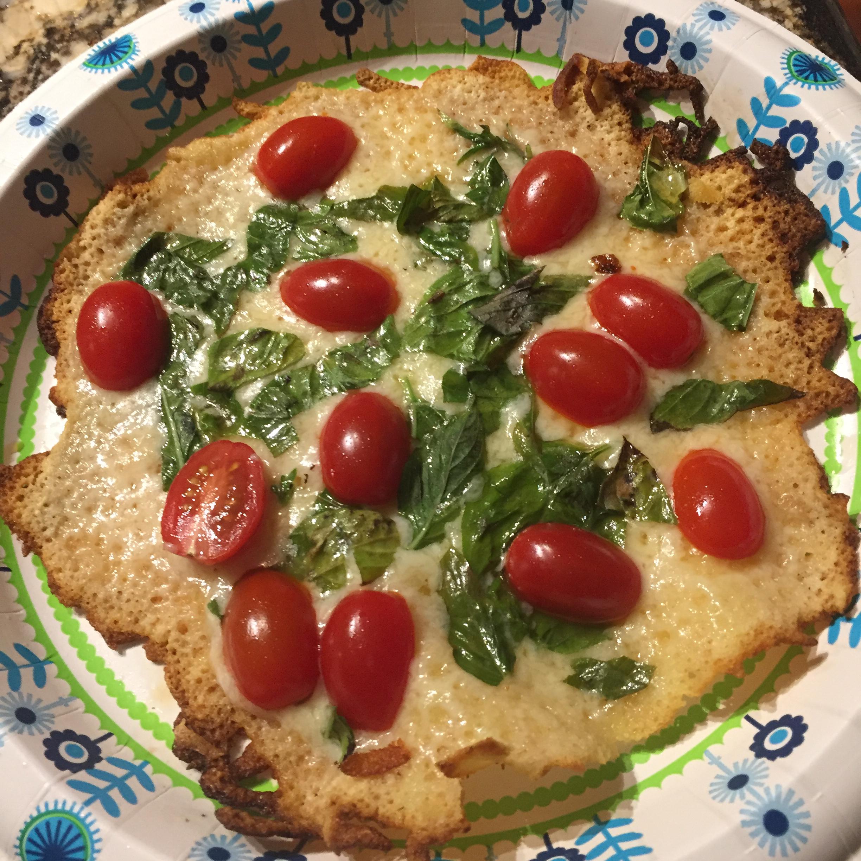 Cheesy-Crust Skillet Pizza