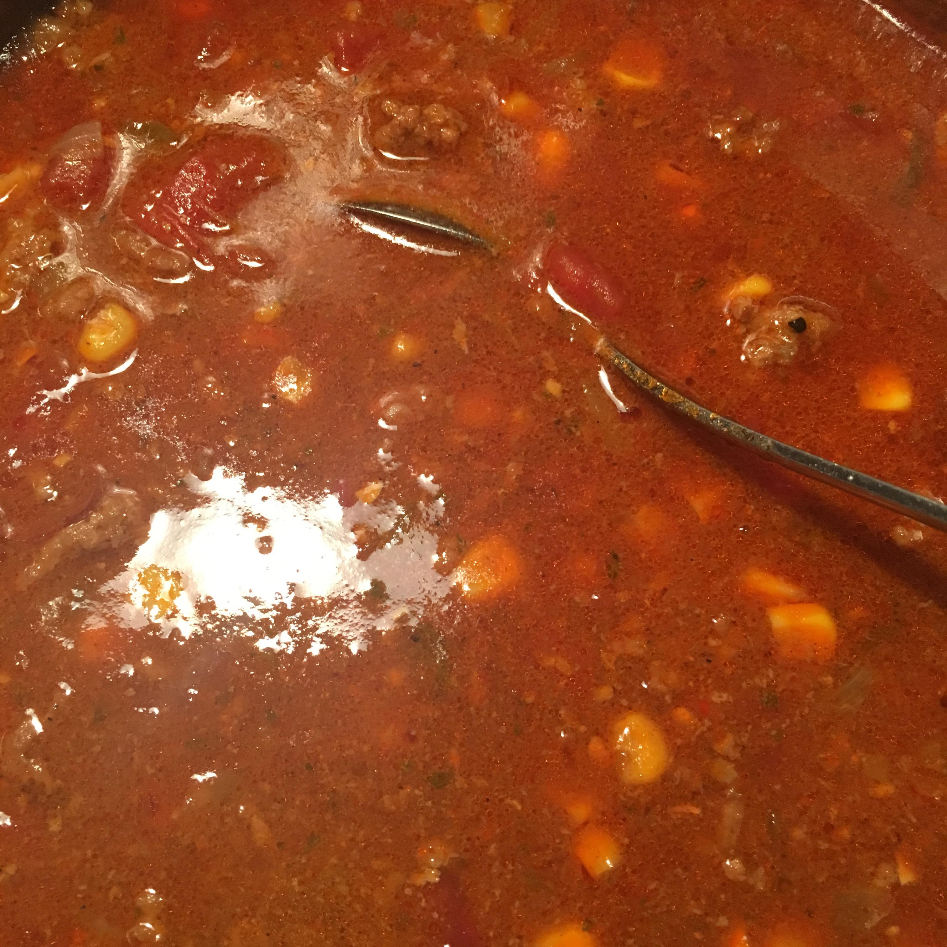 Texas Taco Soup tajuan