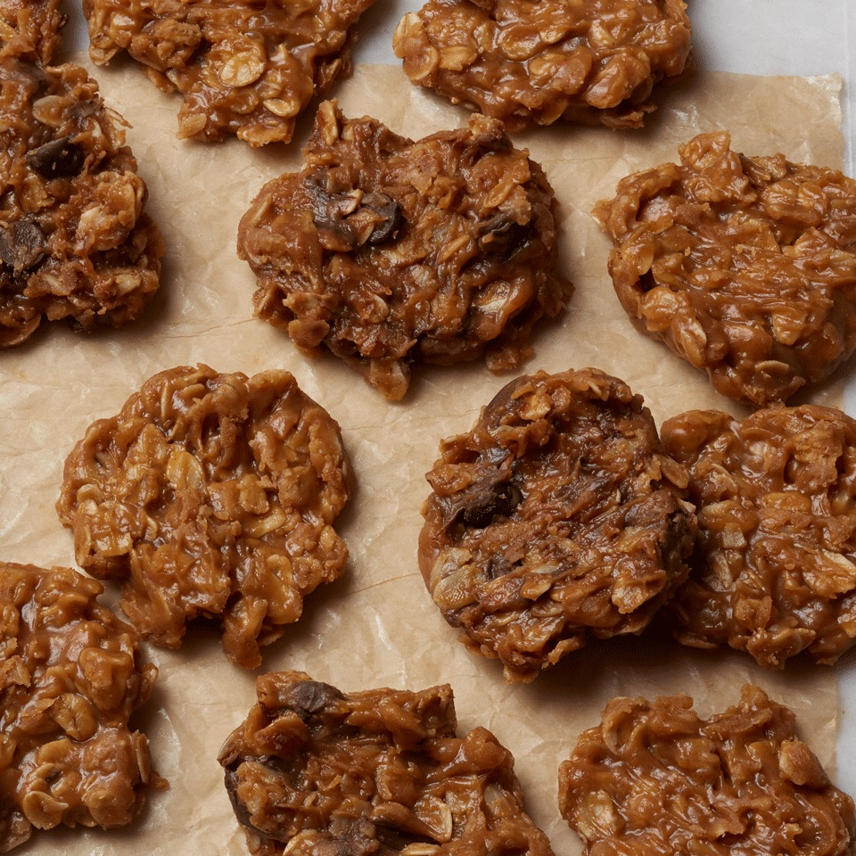 No-Bake Peanut Butter Cookies Carolyn Casner