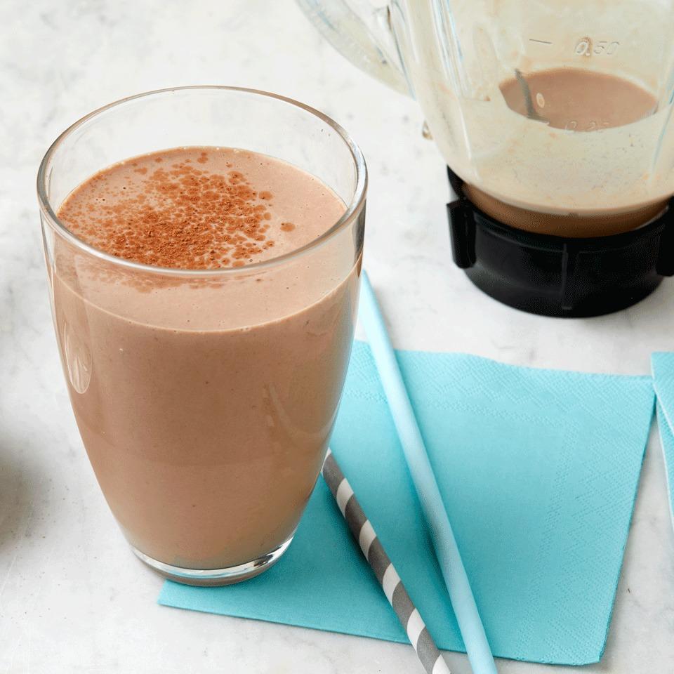 Chocolate-Peanut Butter Protein Shake Hilary Meyer