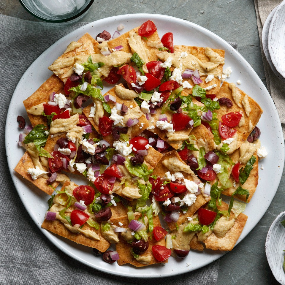 Greek Salad Nachos Trusted Brands