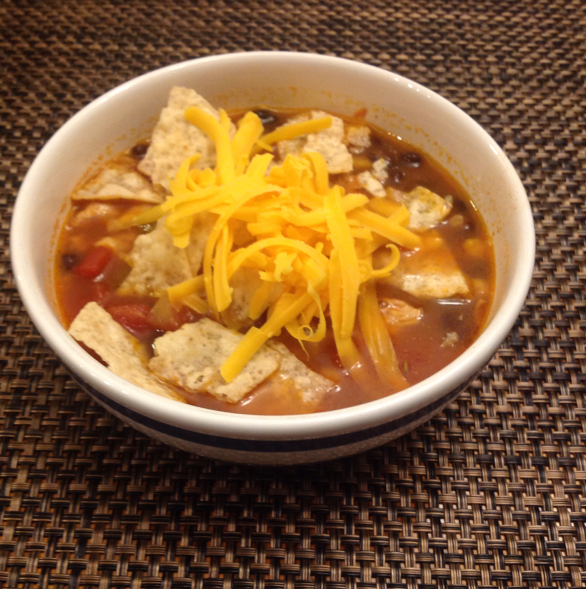 Spicy Mexican Tortilla Soup Chad Dubs