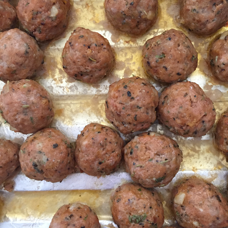 Italian Turkey Meatballs hilocochica