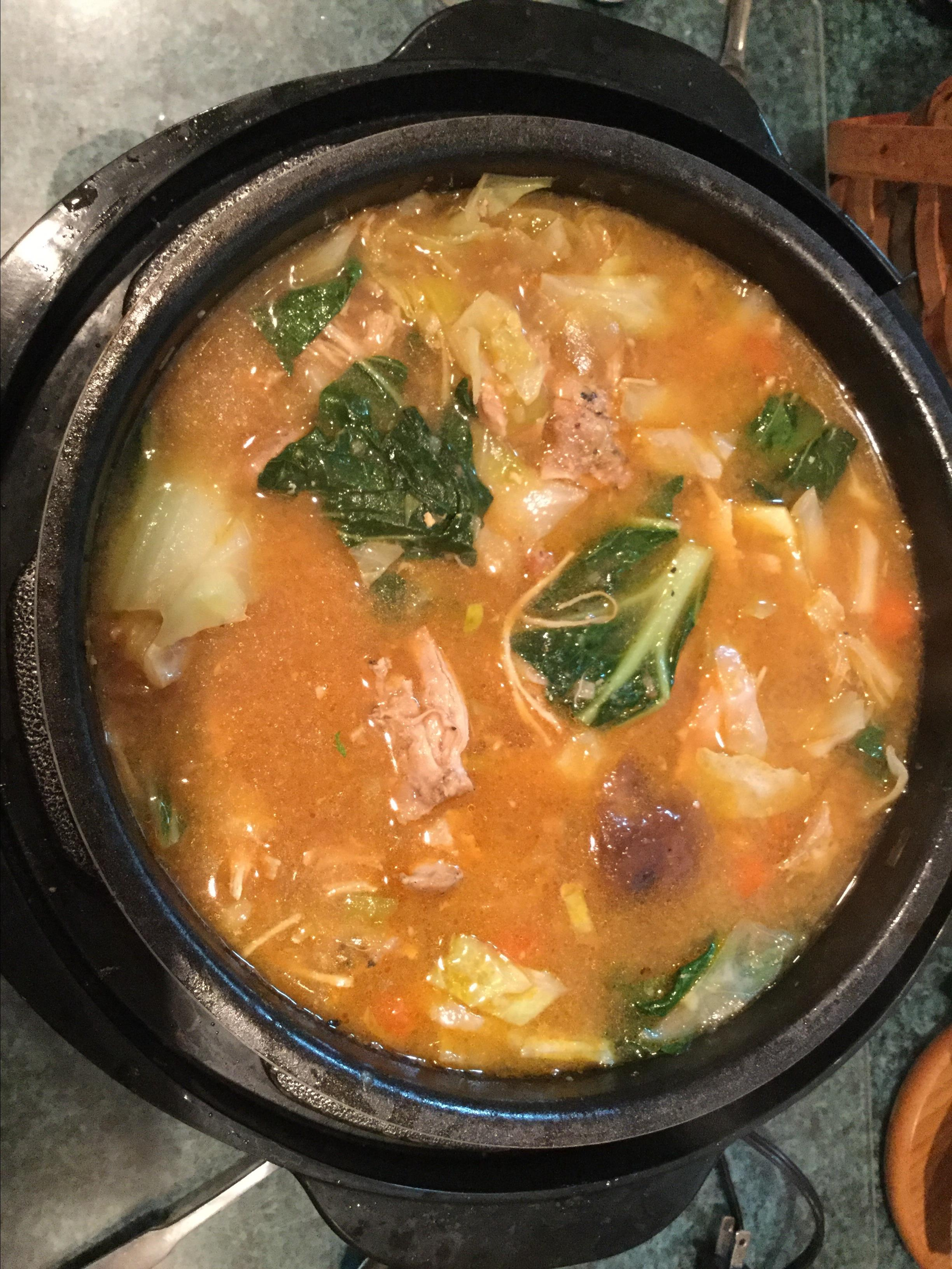 Chicken and Veggie Miso Soup (Instant Pot® Version)