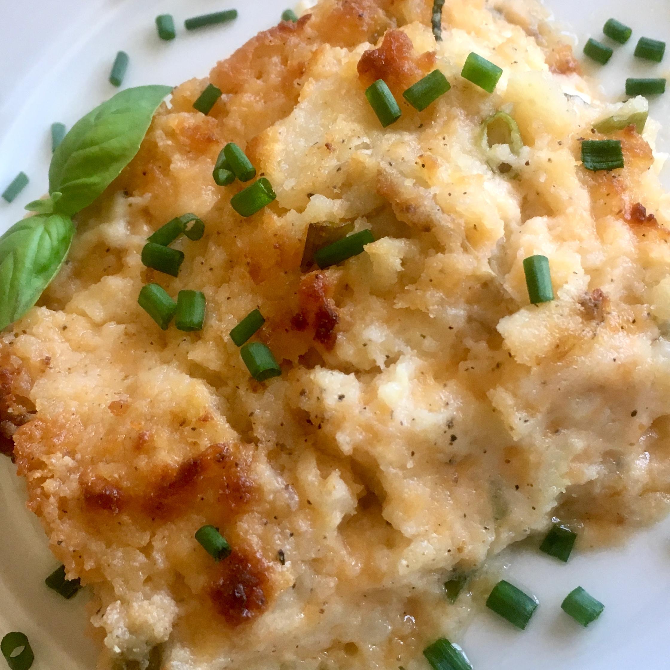Twice-Baked Cheesy Potato Casserole