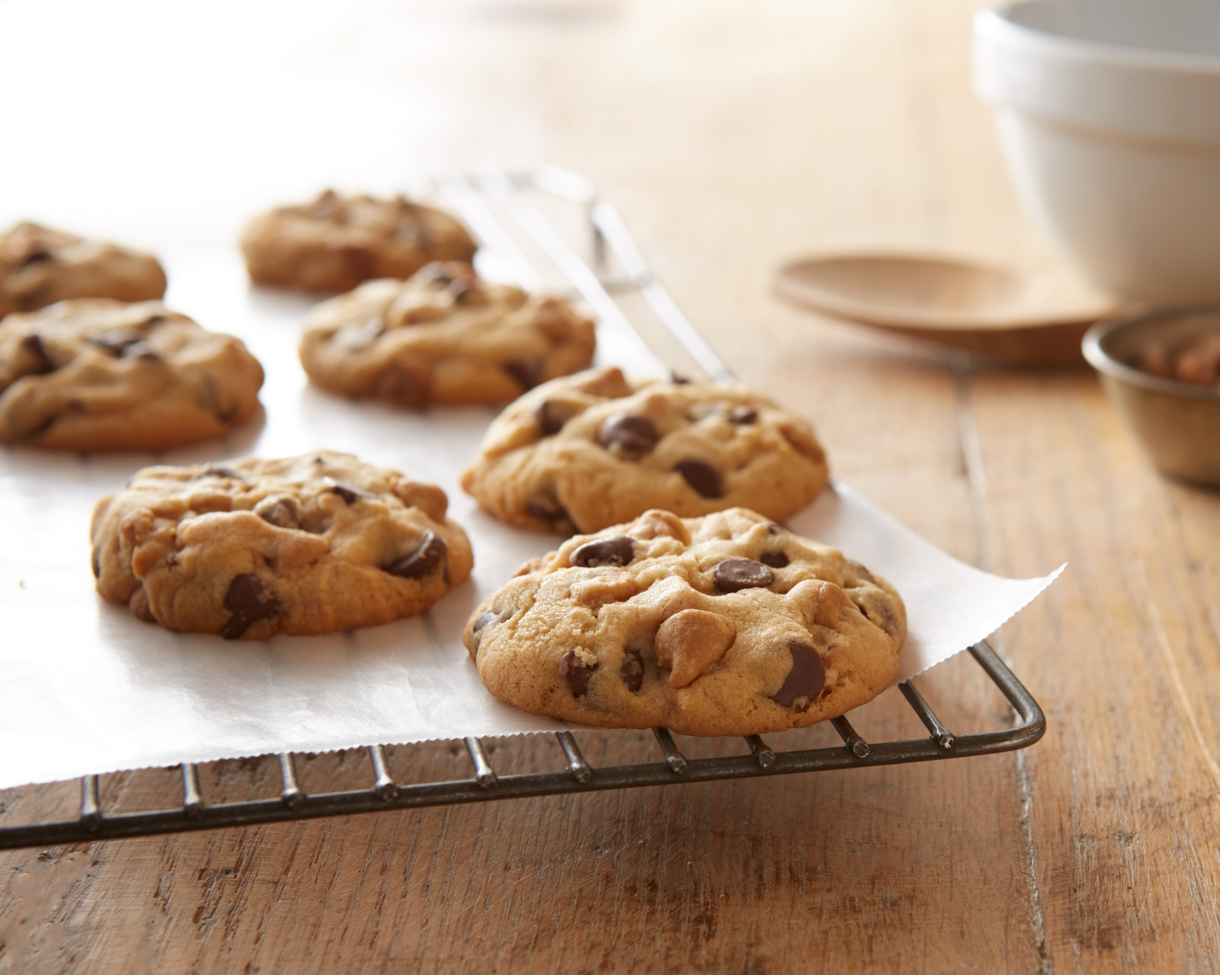 Double Peanut Butter Milk Chocolate Chip Cookies Allrecipes