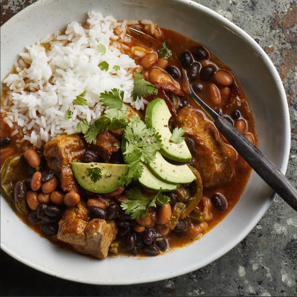 Mexican-Style Pork and Beans
