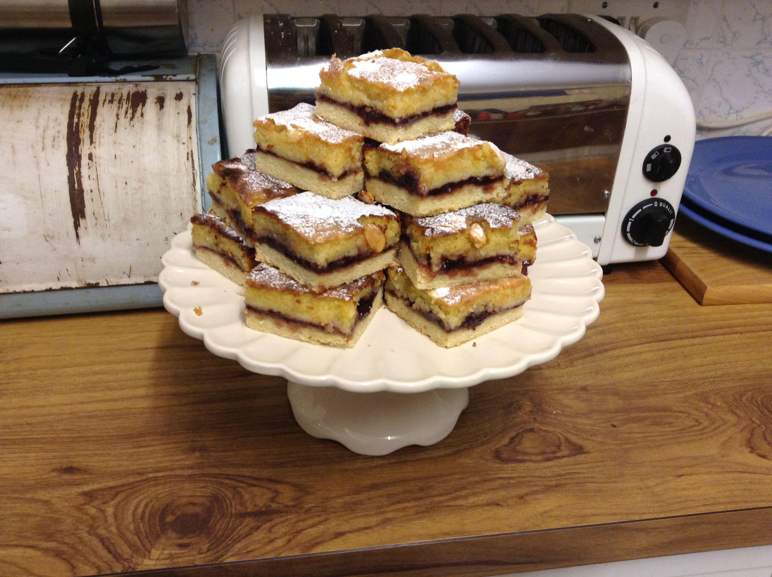 Bakewell Slice AllrecipesPhoto