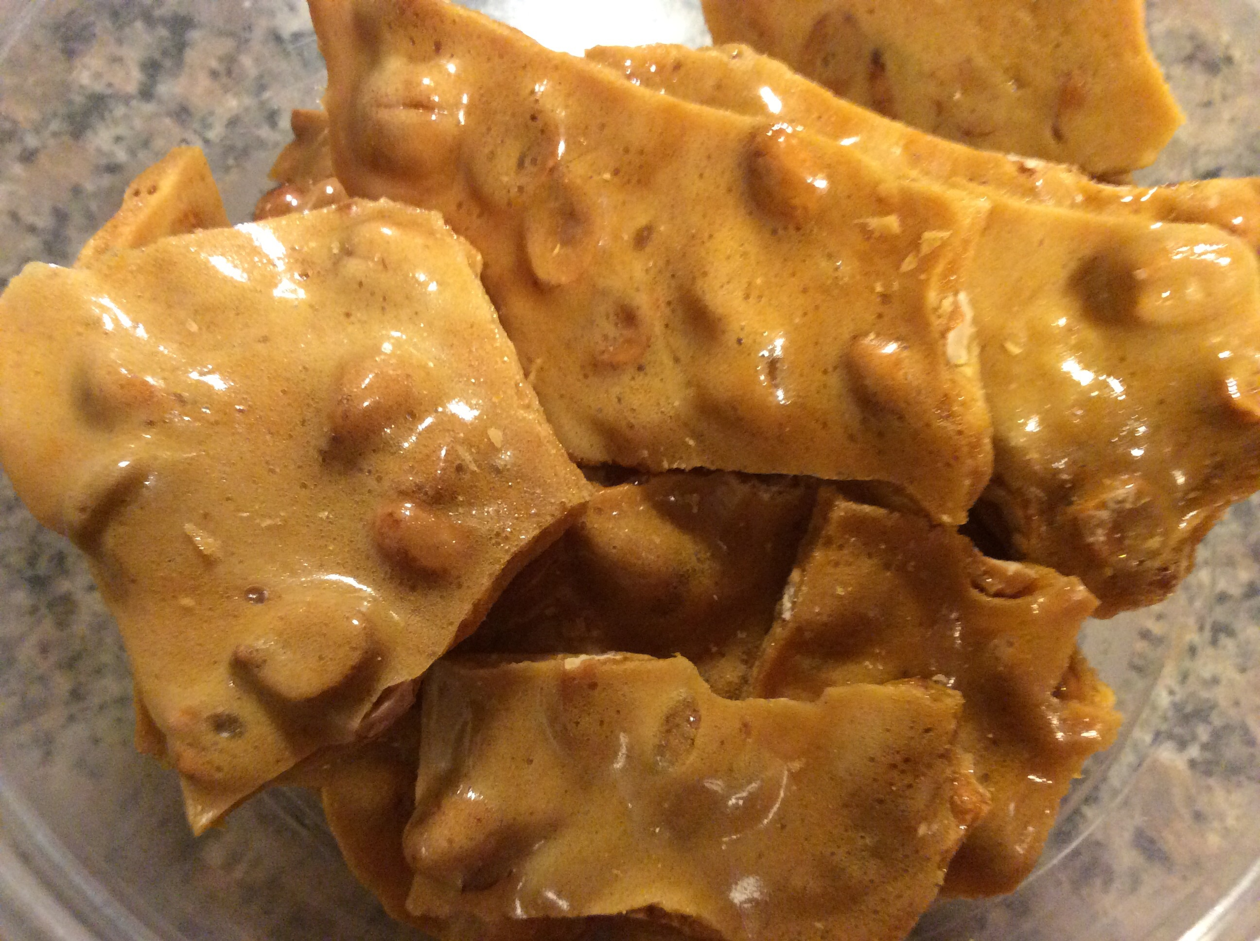Mom's Best Peanut Brittle