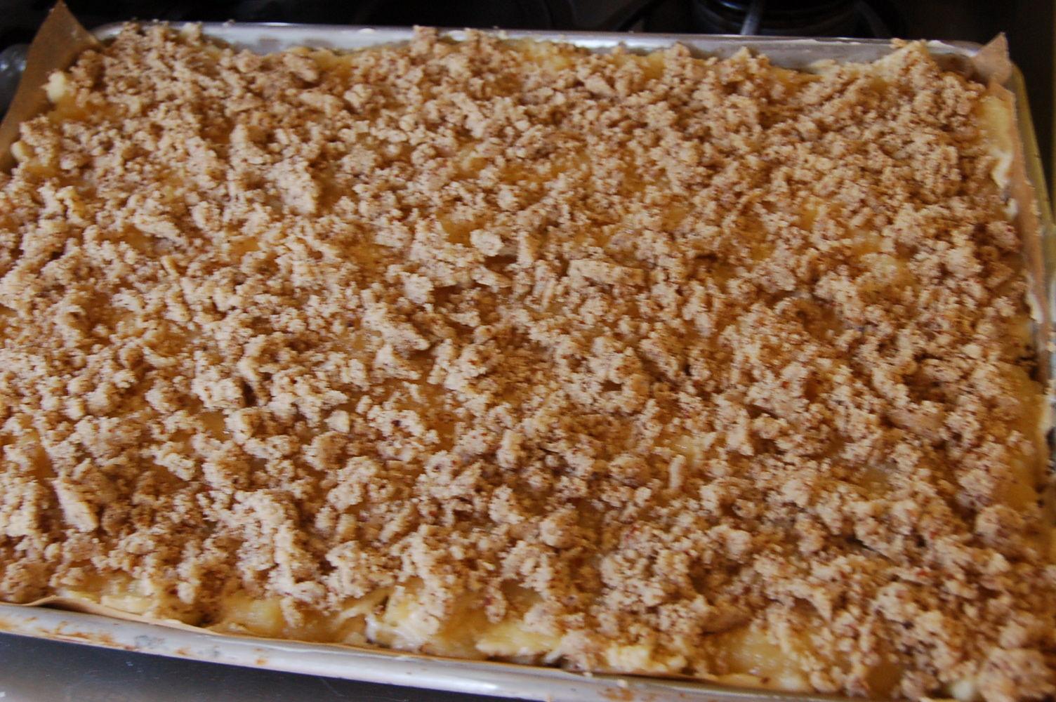 Moist German Sheet Pan Apple Cake