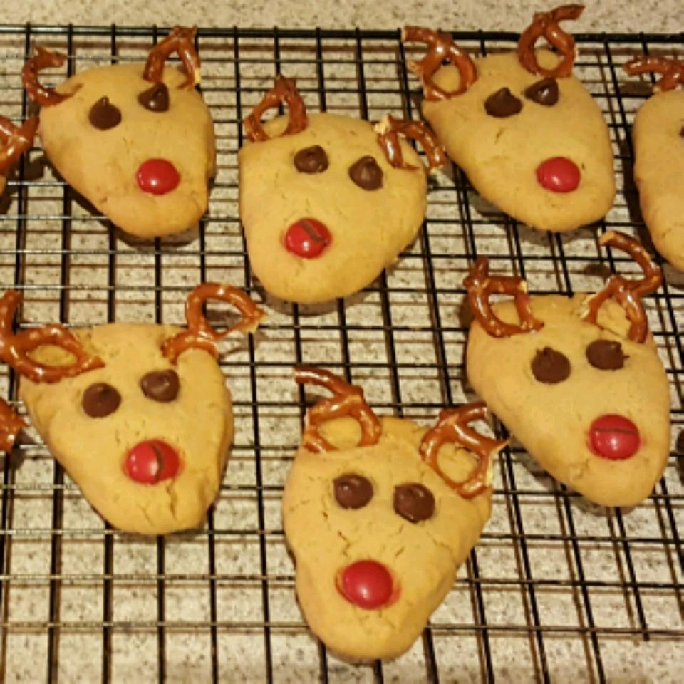 Reindeer Cookies Barbara Kern