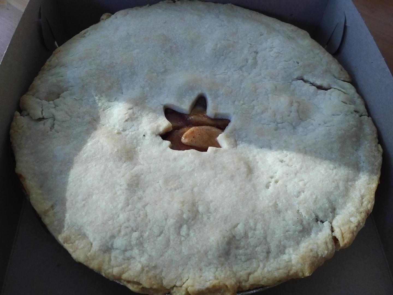 Vanilla-Maple Apple Pie Filling
