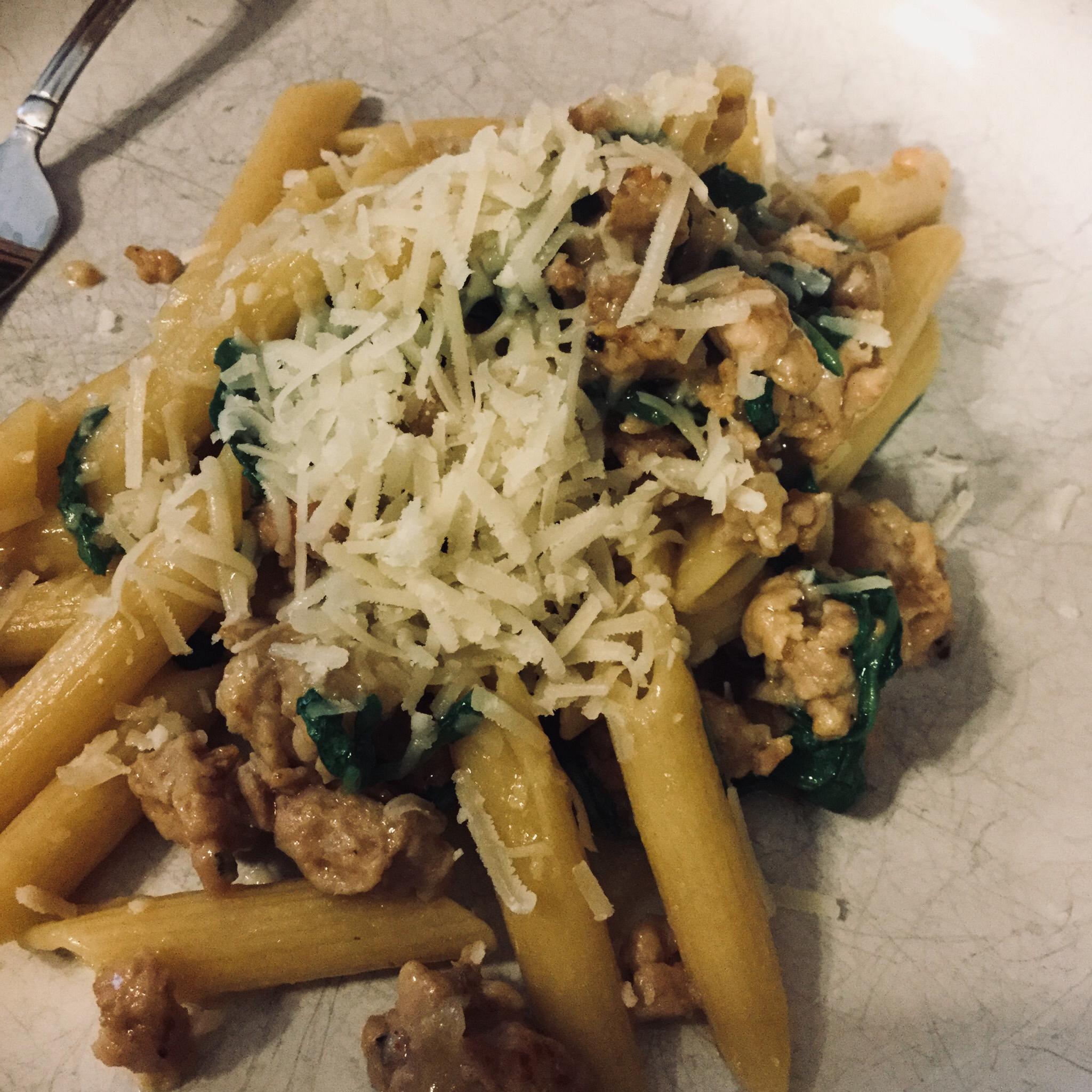 One Pan Orecchiette Pasta clmayfae