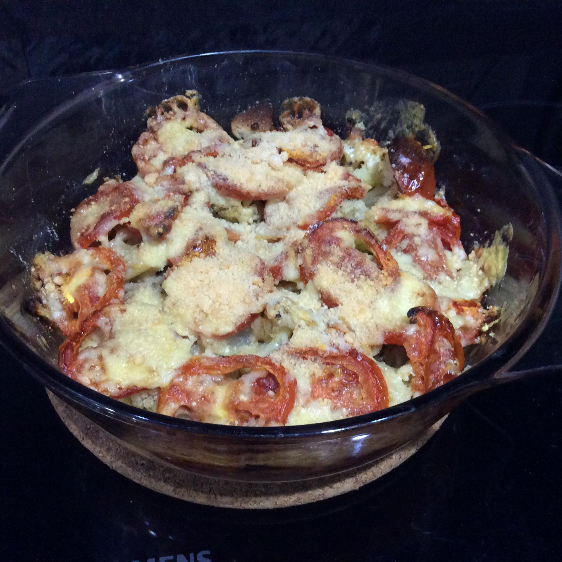 Cheesy Baked Cauliflower II eric