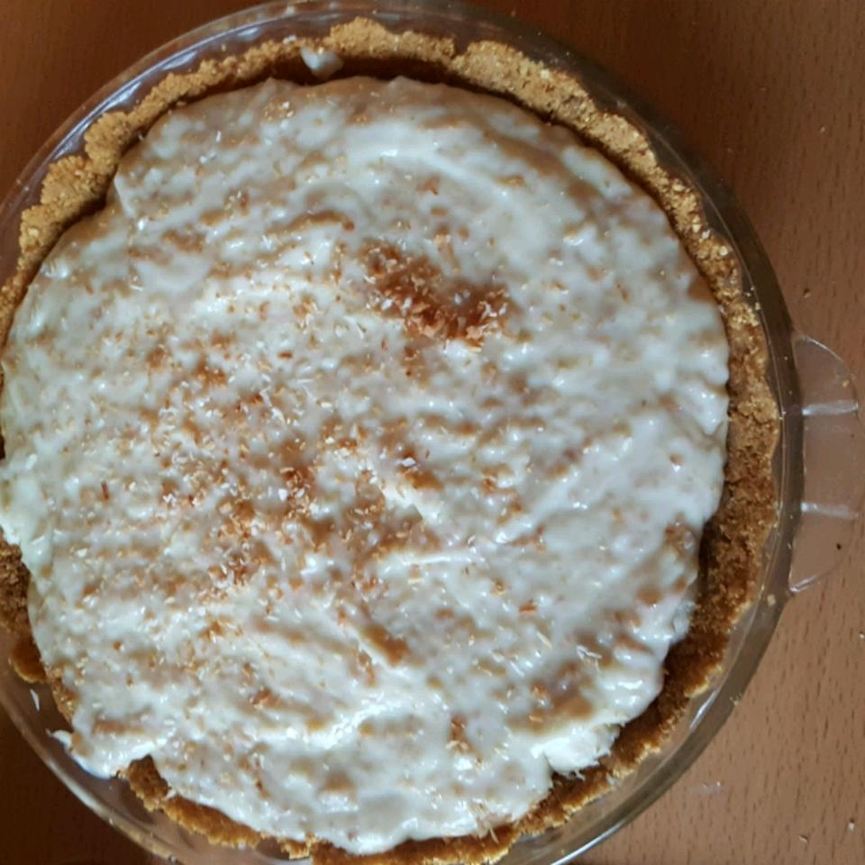 Banana Coconut Cream Pie Colleen Seal