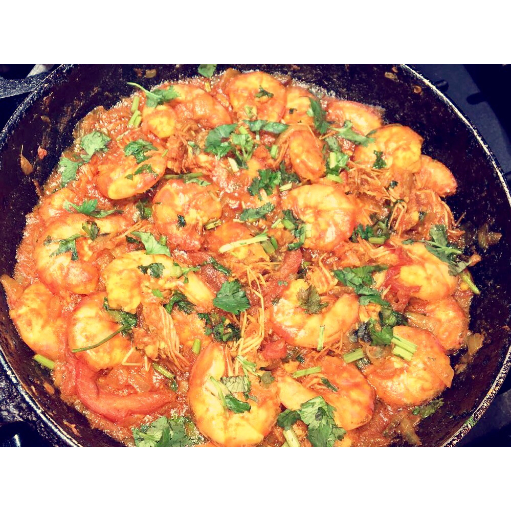 Authentic and Easy Shrimp Curry anikanahar34