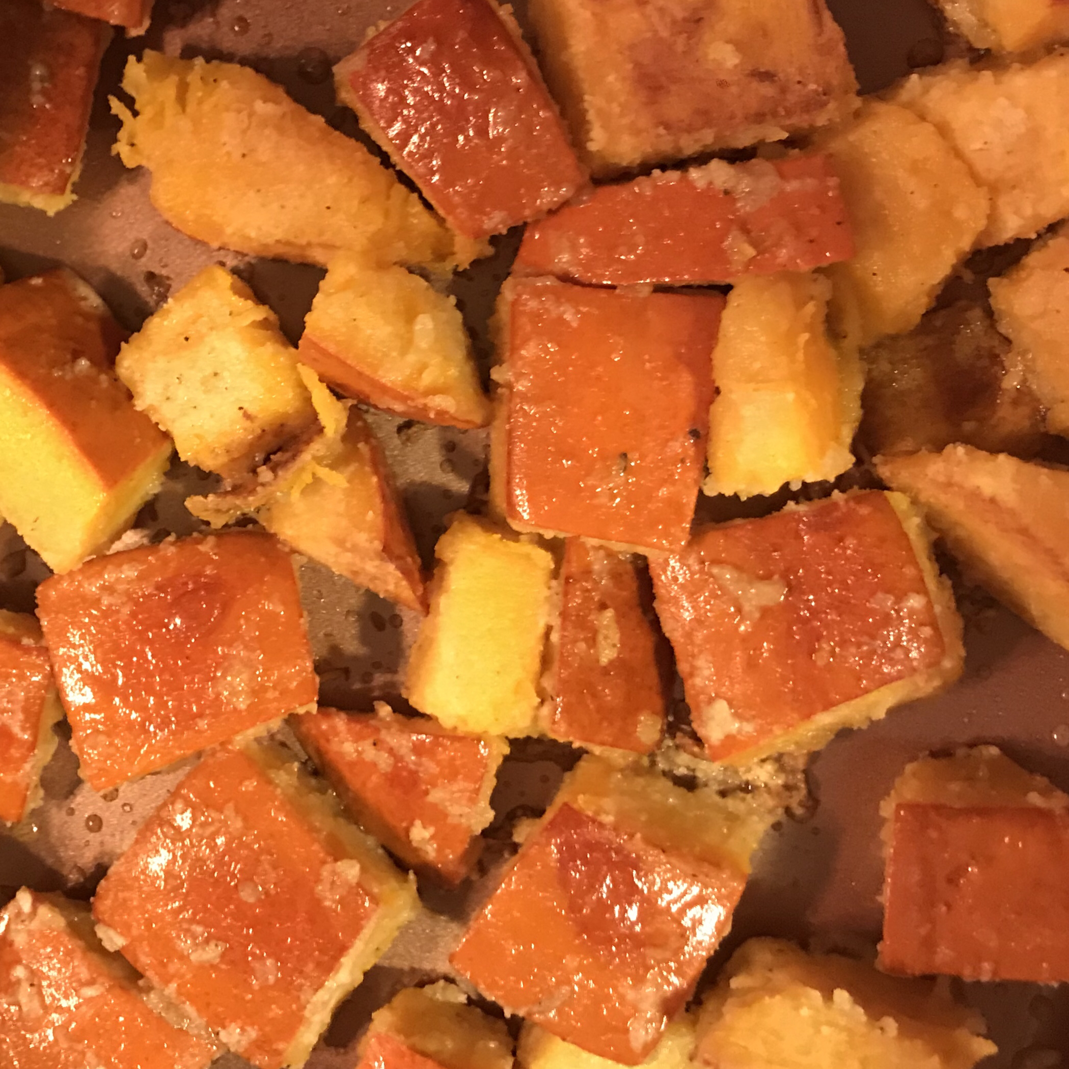 Fried Pumpkin Janet Milburn