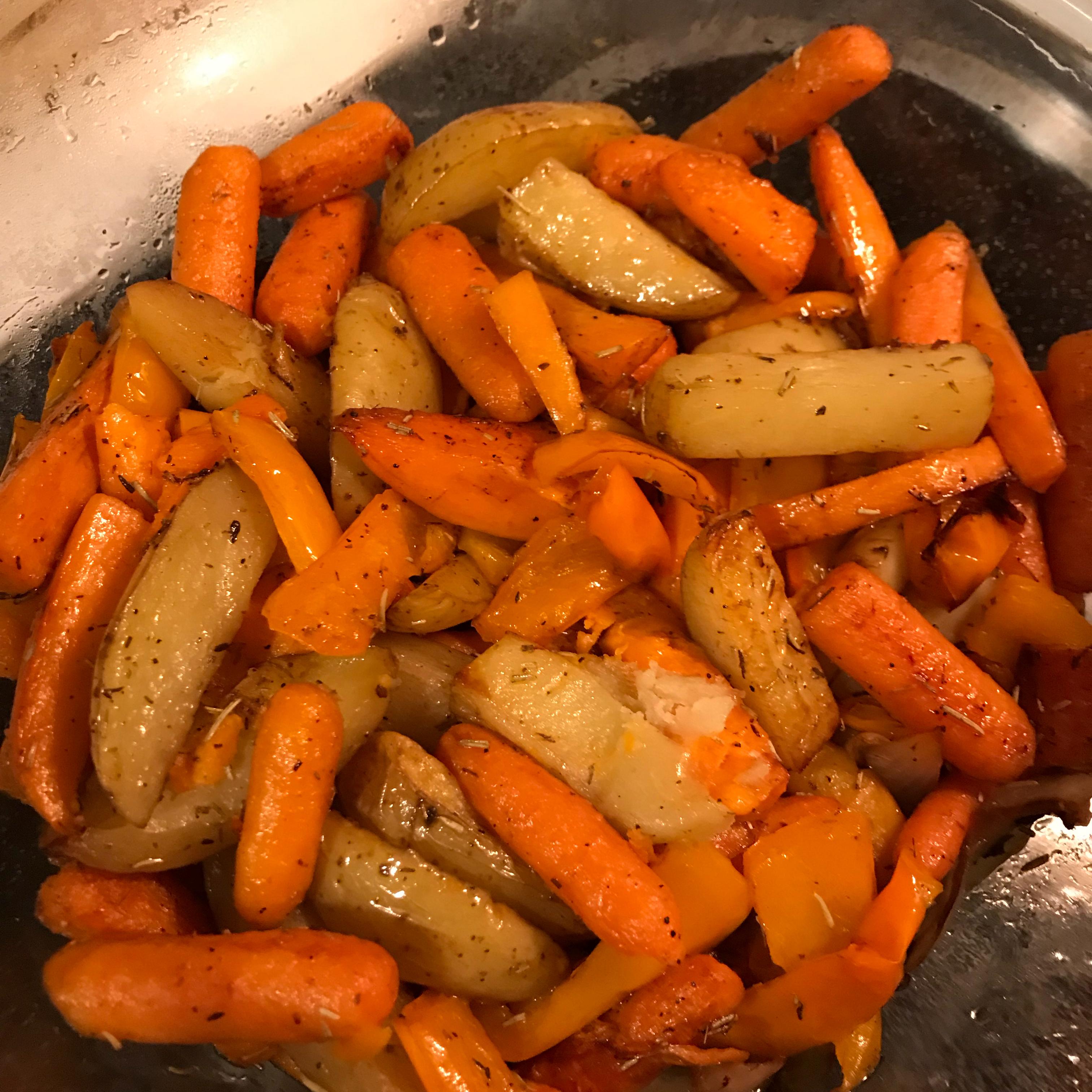 Roasted Balsamic Vegetables ACinnamon