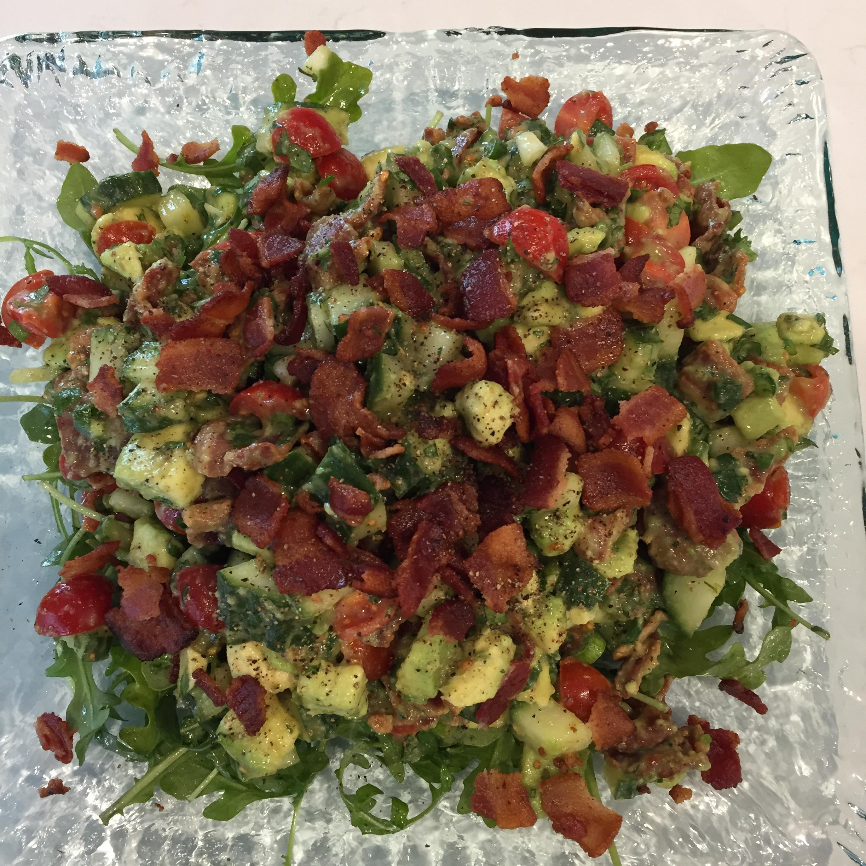 Bacon Avocado Salad Cindy Ross