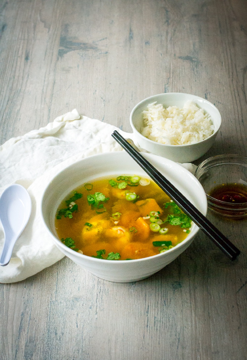Vietnamese Kabocha Squash Soup