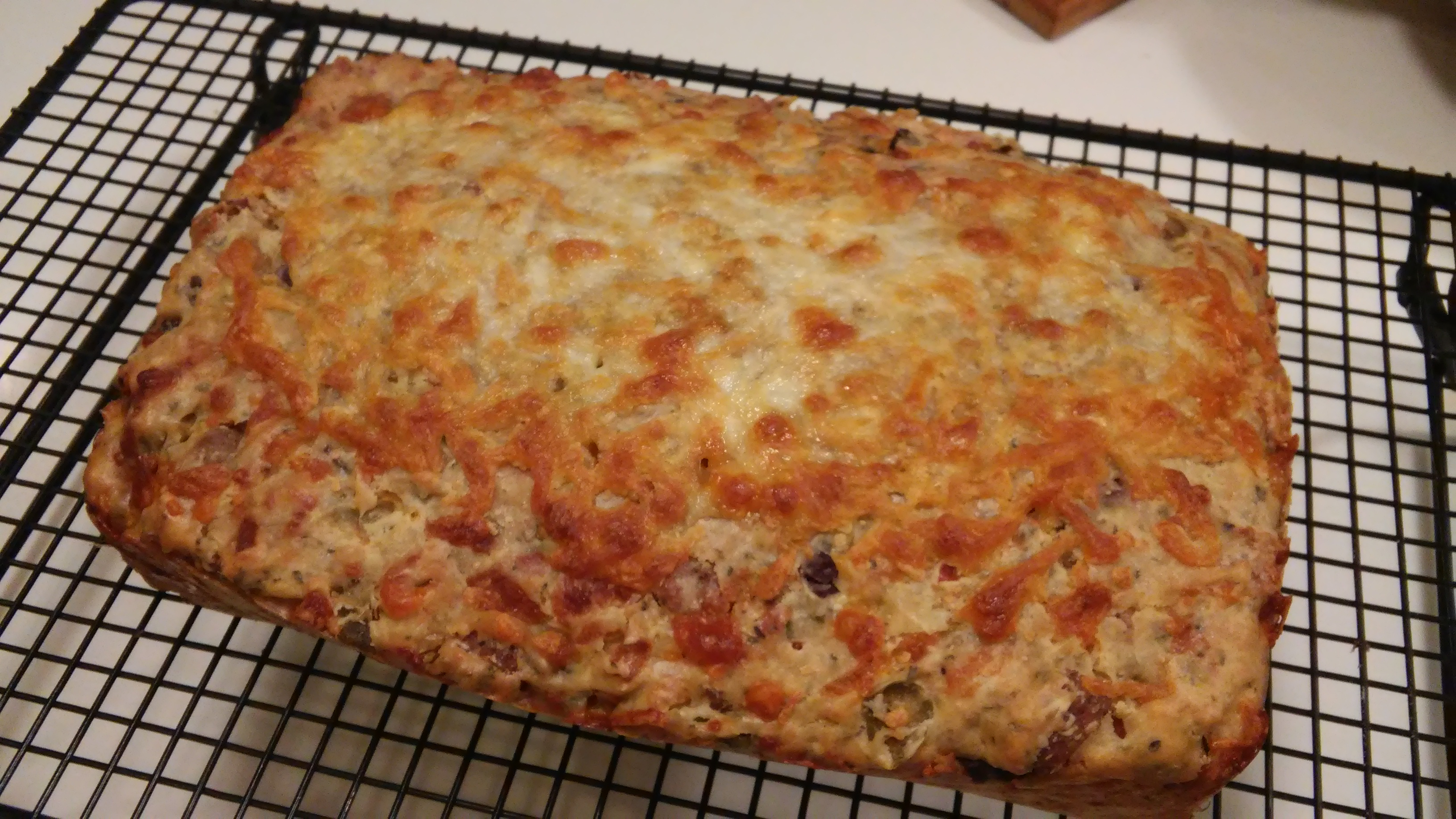 Spicy Italian Sausage and Mozzarella Beer Bread Curt McDowell