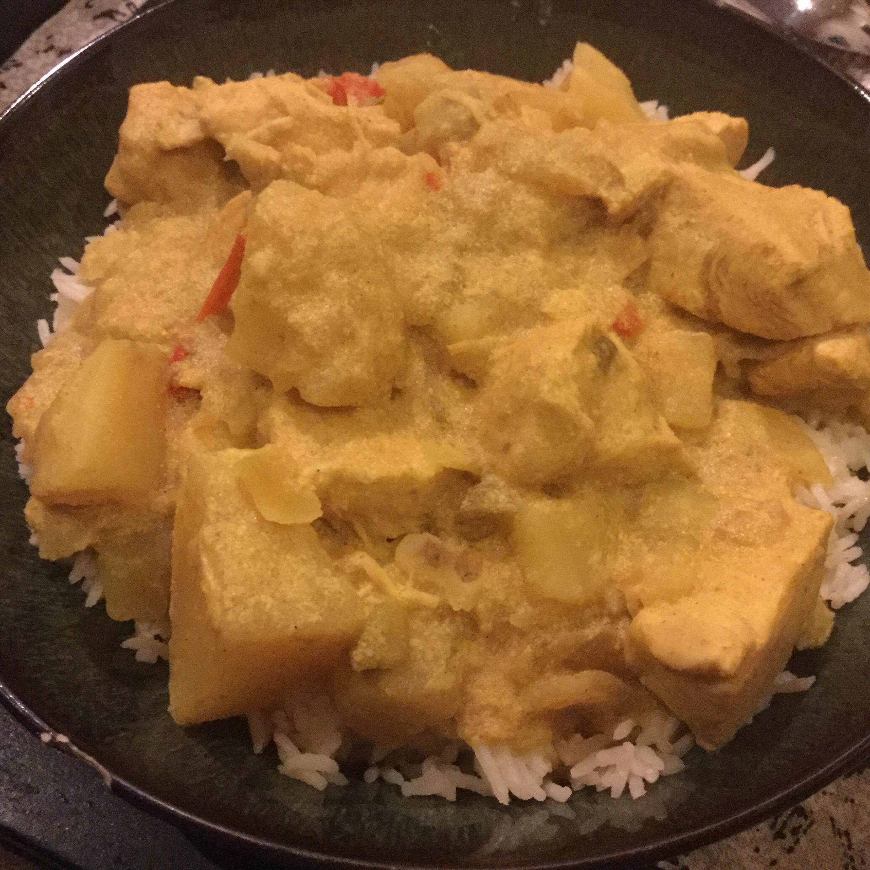 Coconut Chicken Curry Stew Cocopuff