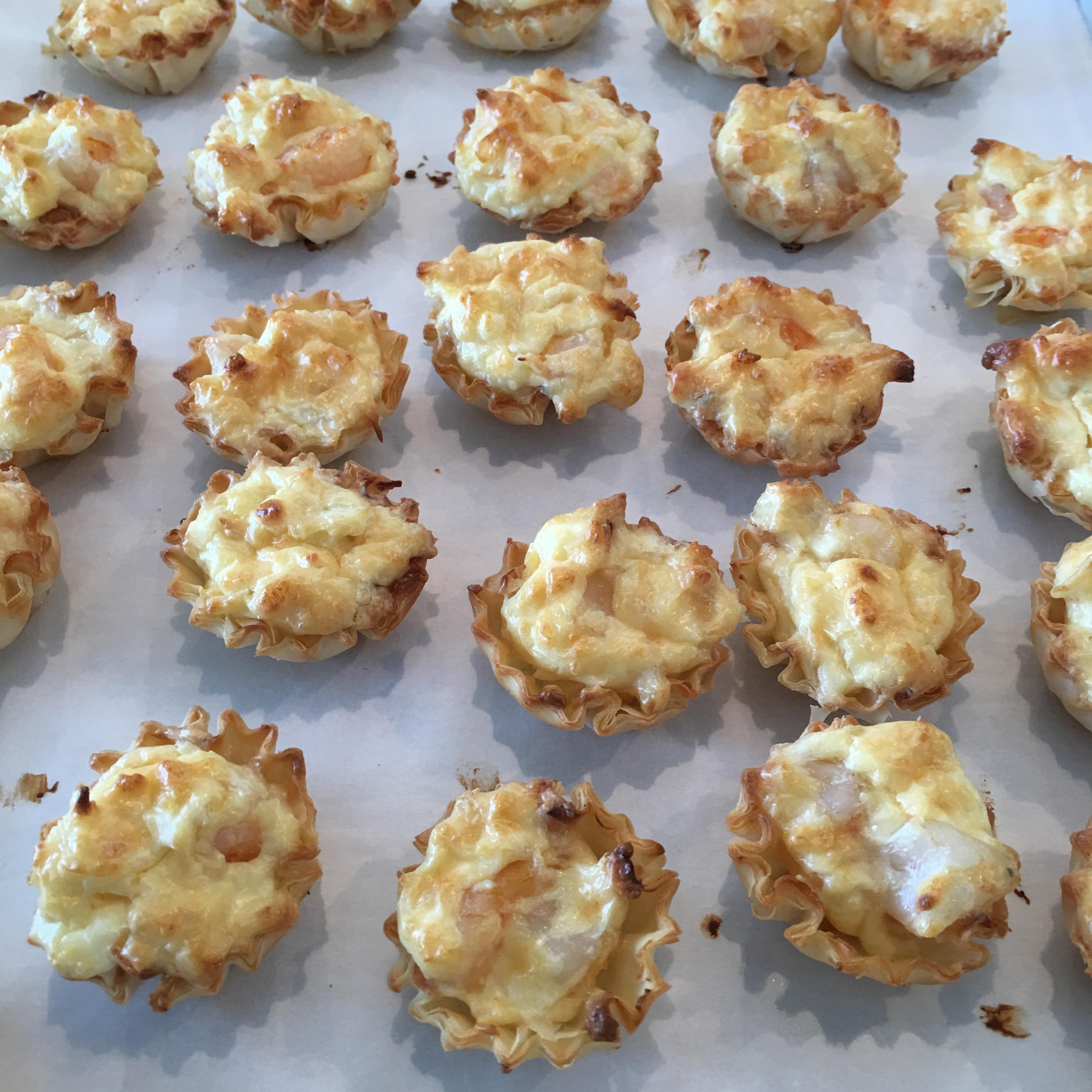 Shrimp Scampi Cheesecake Appetizer Richard Melville