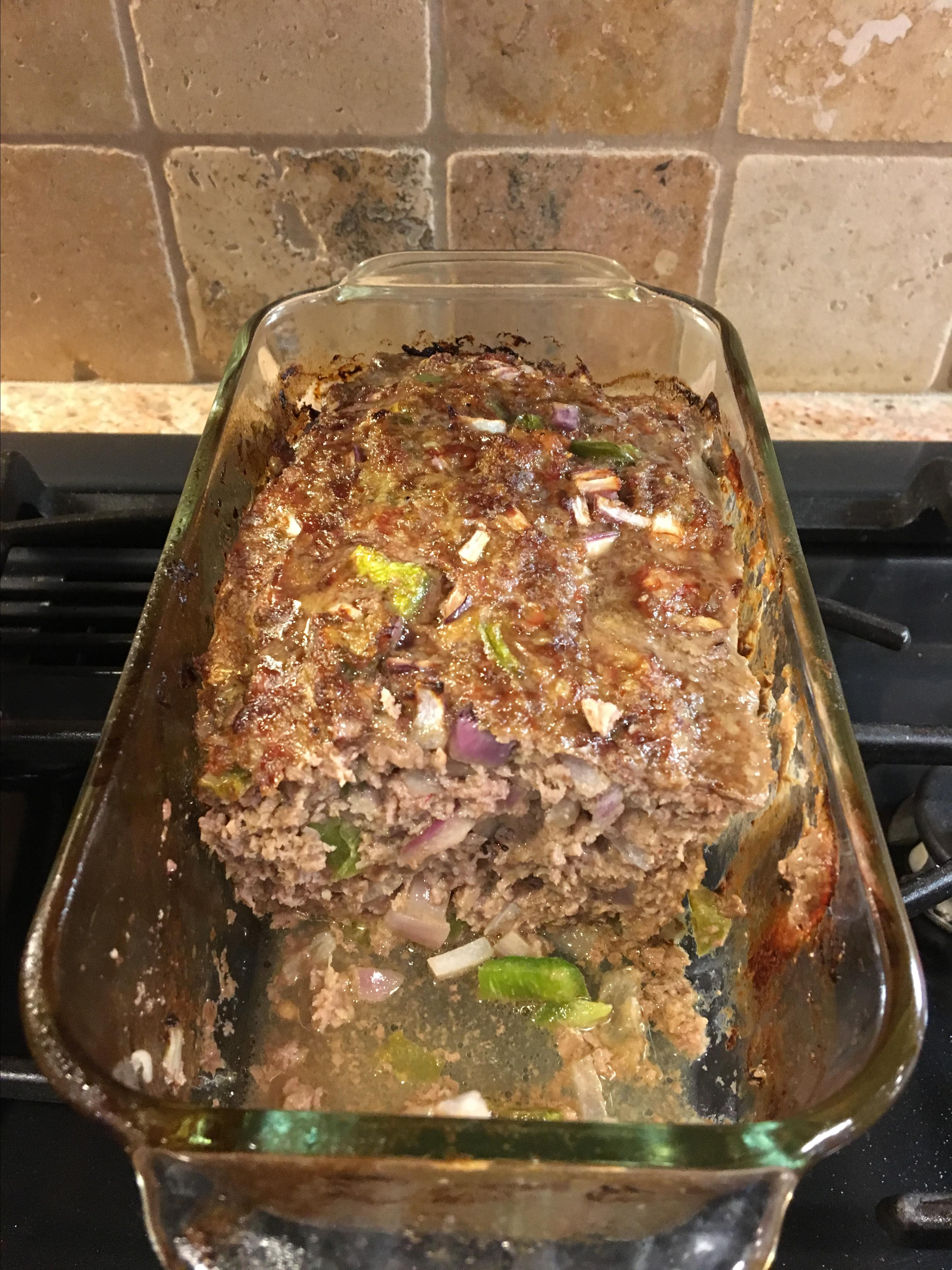 Meatloaf with Italian Sausage Lucia Giancroce