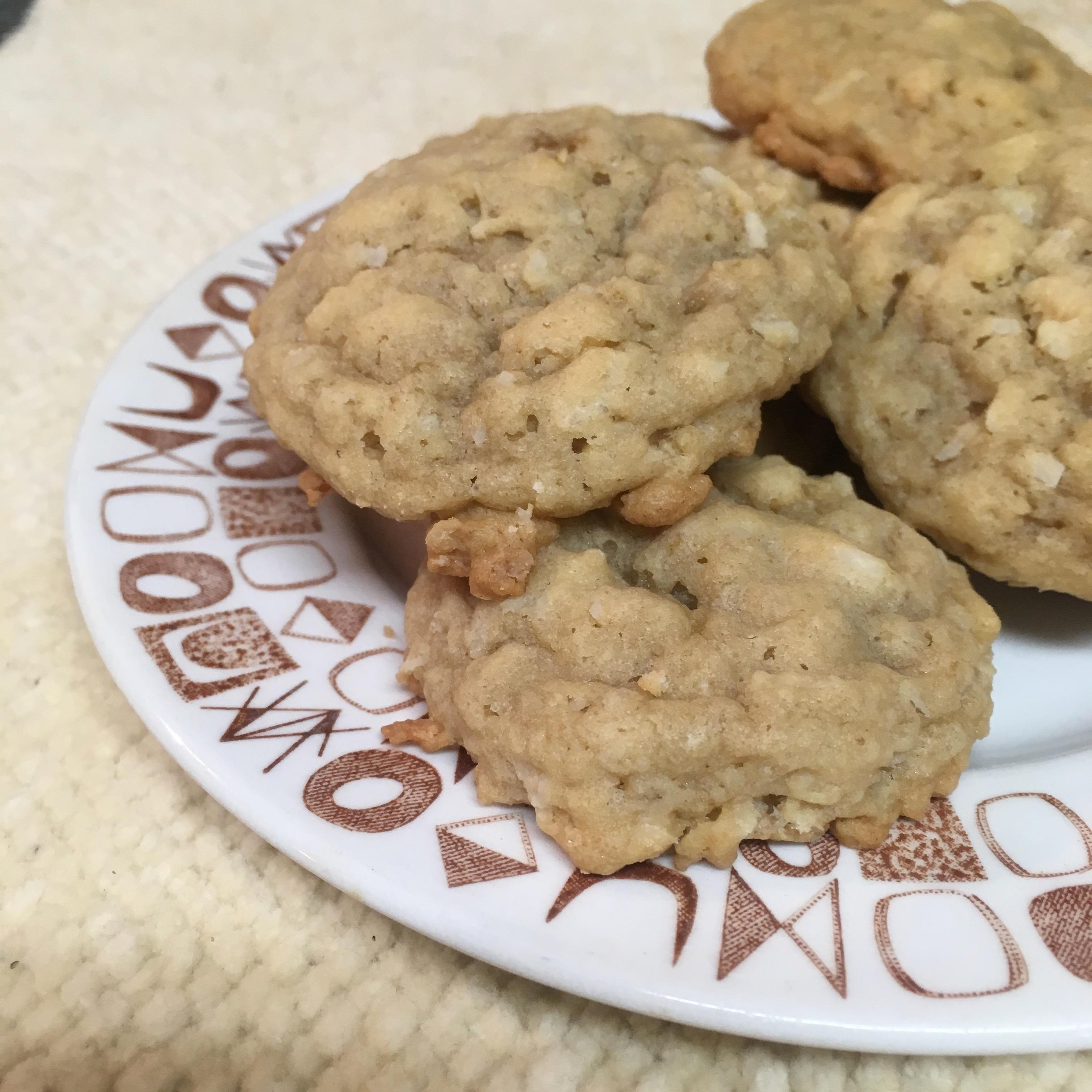 Grandmother's Oatmeal Coconut Cookies
