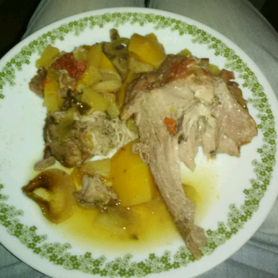 Sicilian Pineapple Pork Roast