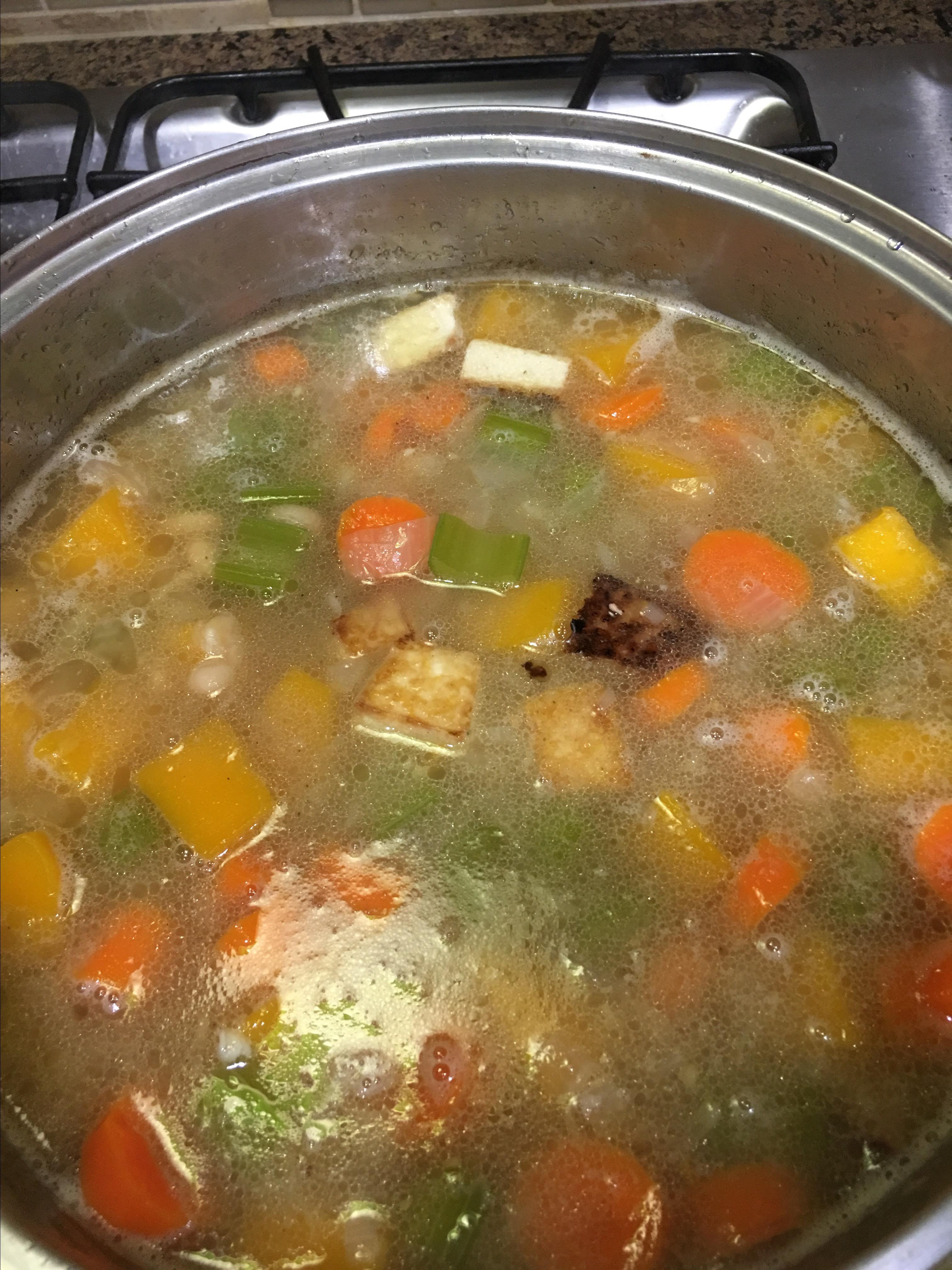 Bean and Butternut Squash Soup deeneezer