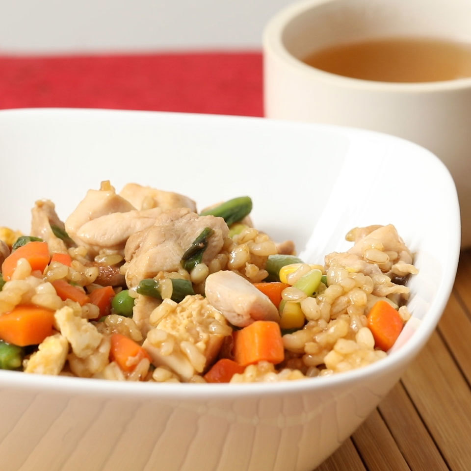 Easy Chicken Fried Rice Trusted Brands