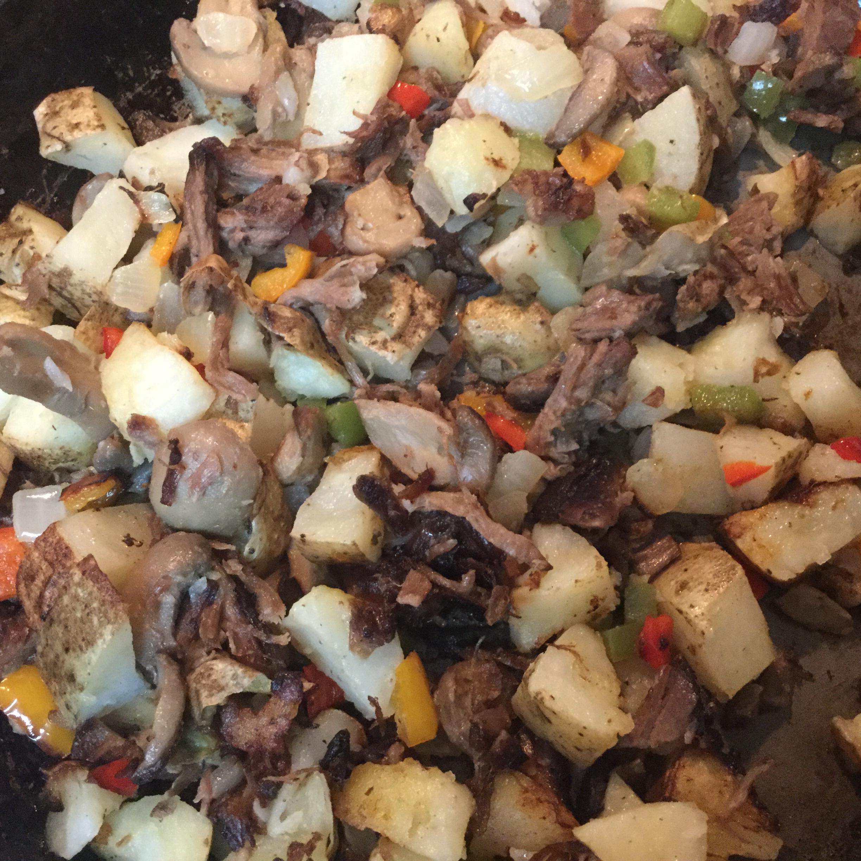 Leftover Roast Beef Hash bbatsjc
