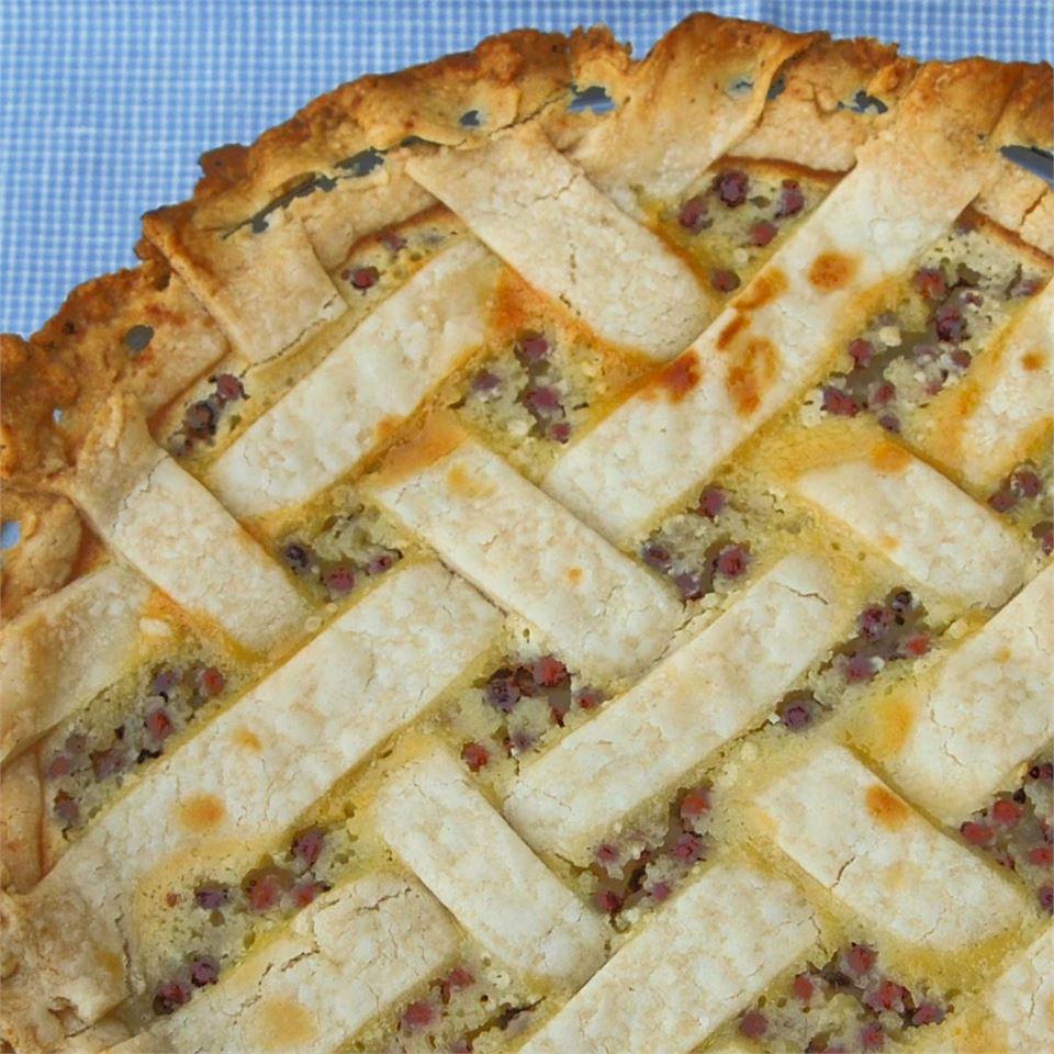 Sour Cream Gooseberry Pie VANBOCKEL