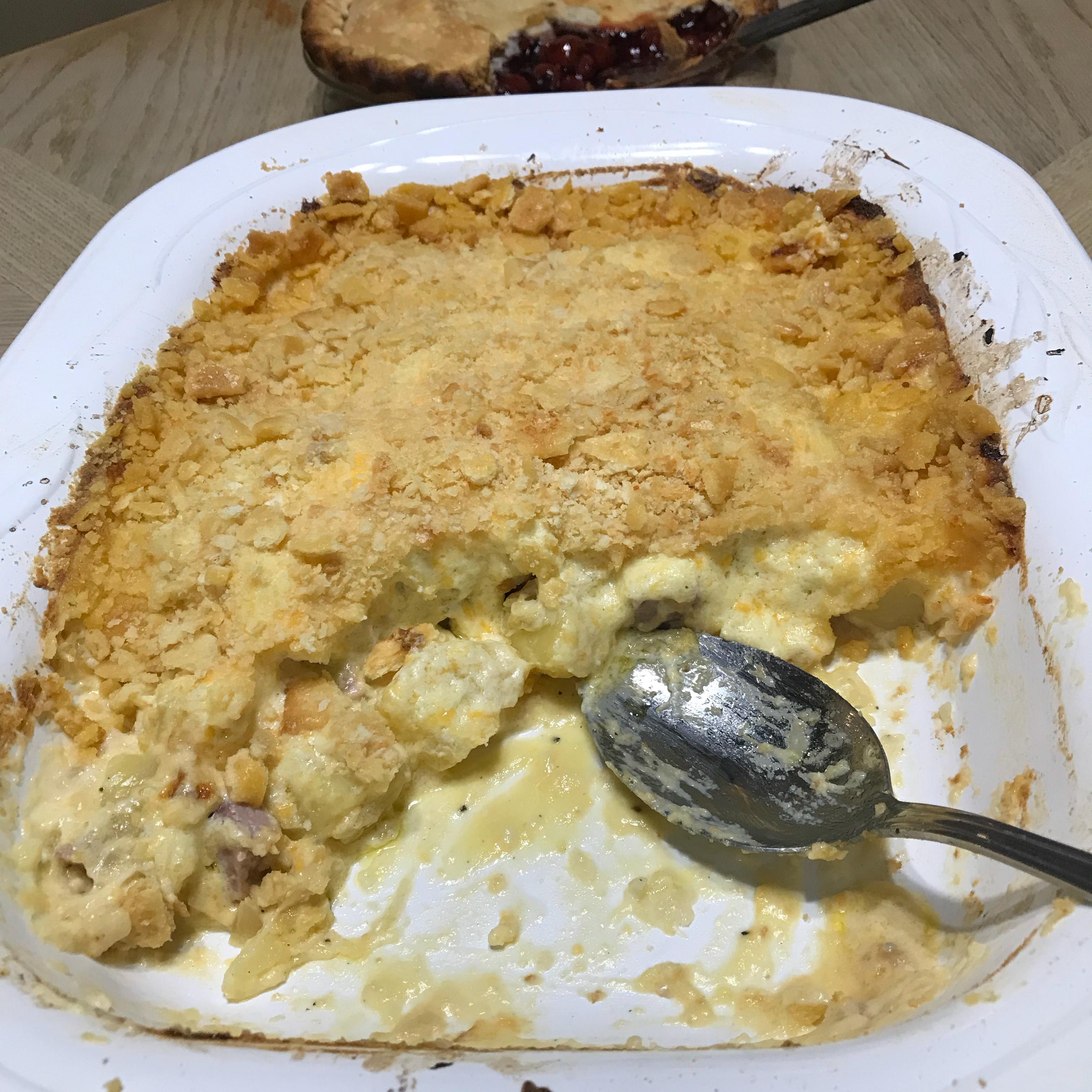 Heavenly Potatoes and Ham Dawn