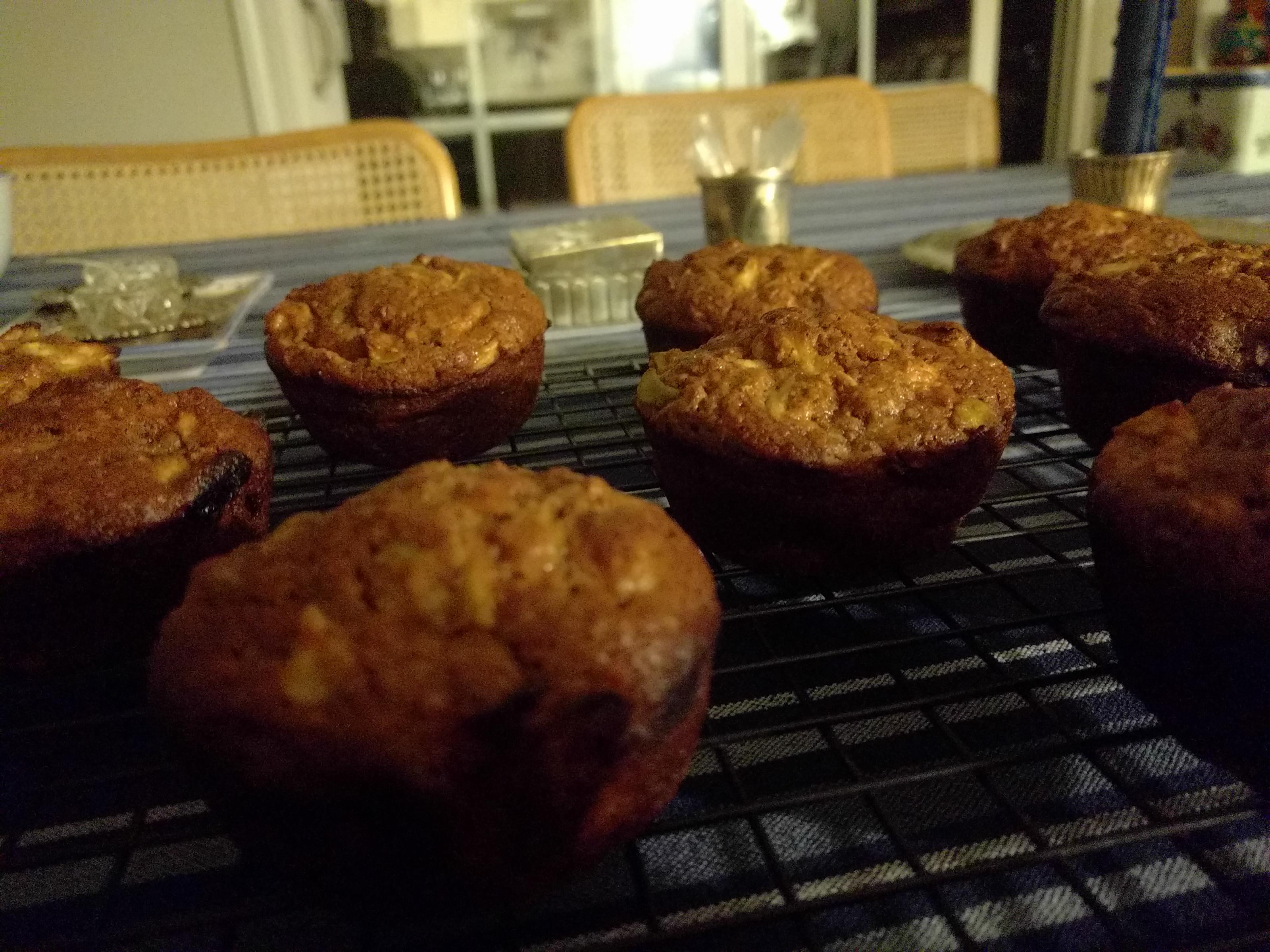Roxie's Bran Muffins Blueberry Sunshine