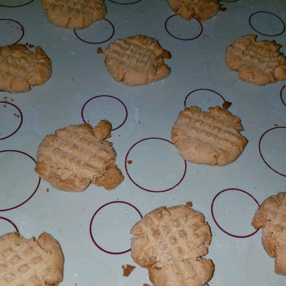 Easy Cake Mix Peanut Butter Cookies