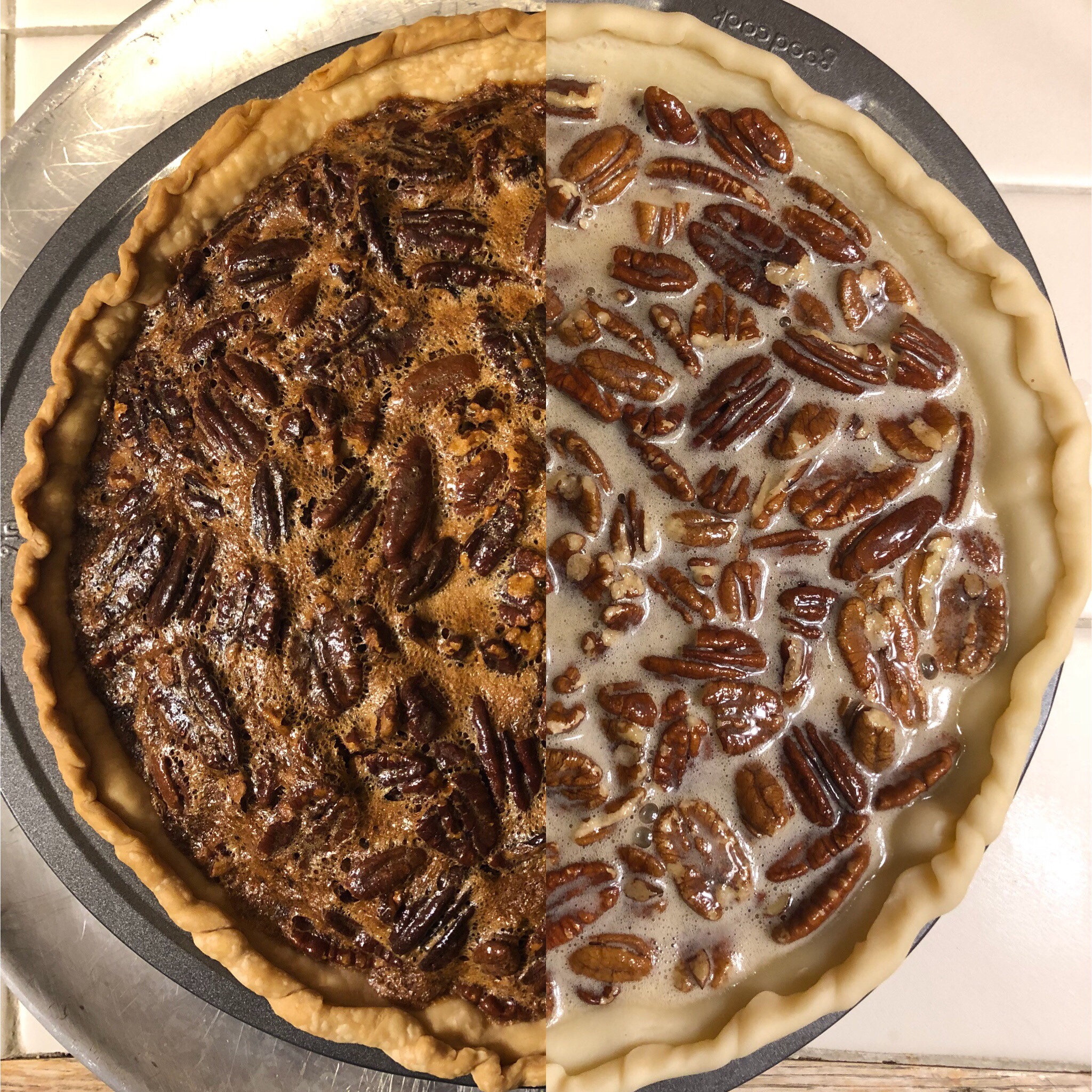 Southern Pecan Pie I fitbaker
