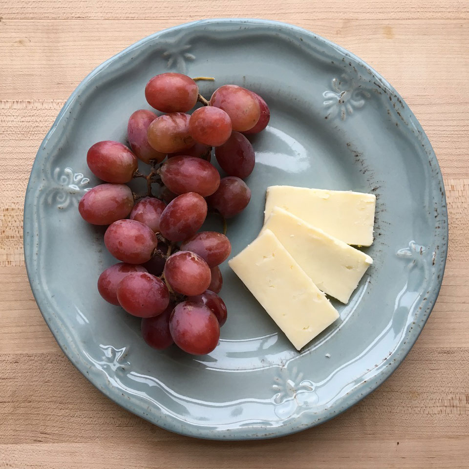 Grapes & Cheese Victoria Seaver, M.S., R.D.