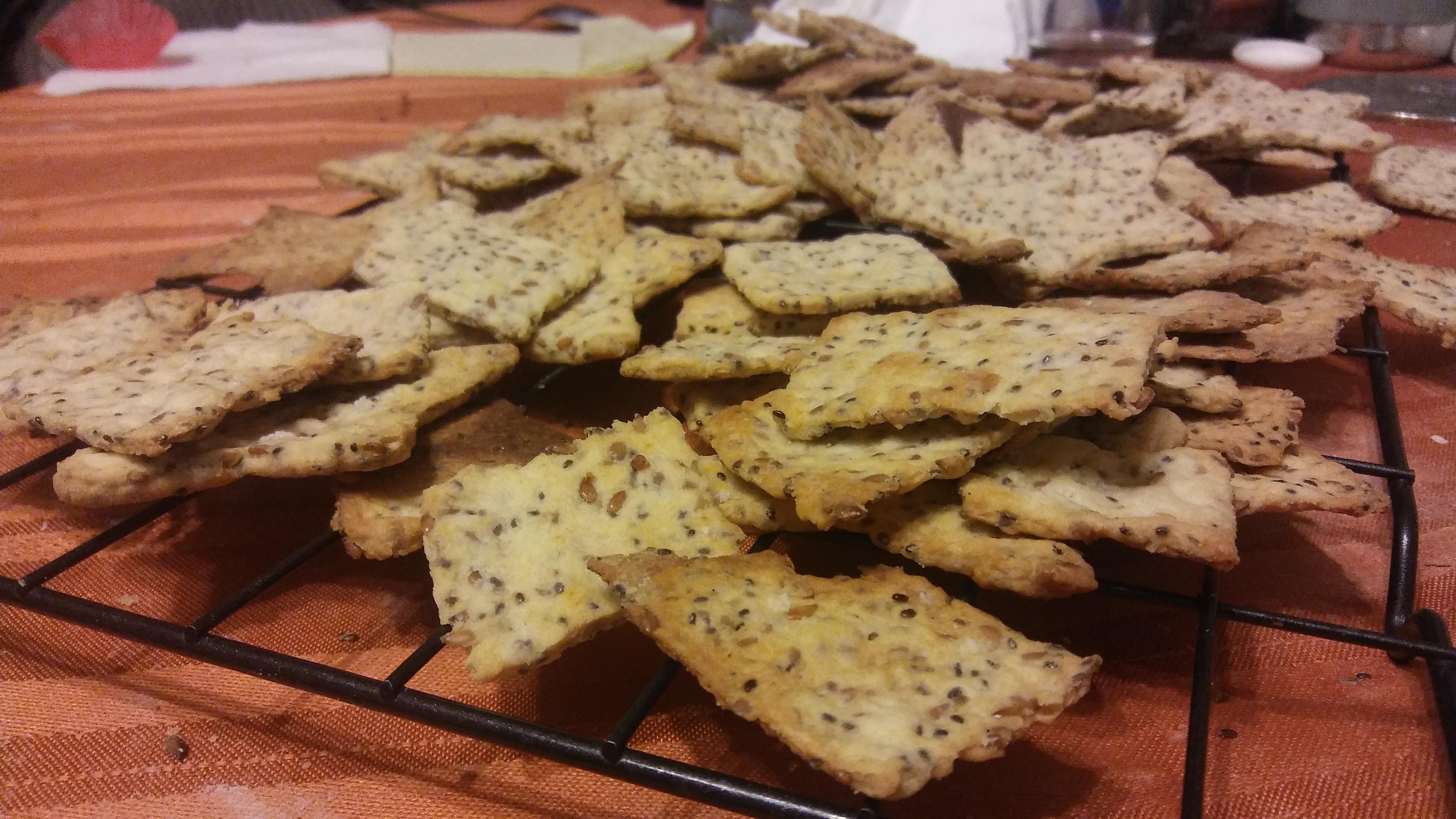 Homemade Artisan Crackers