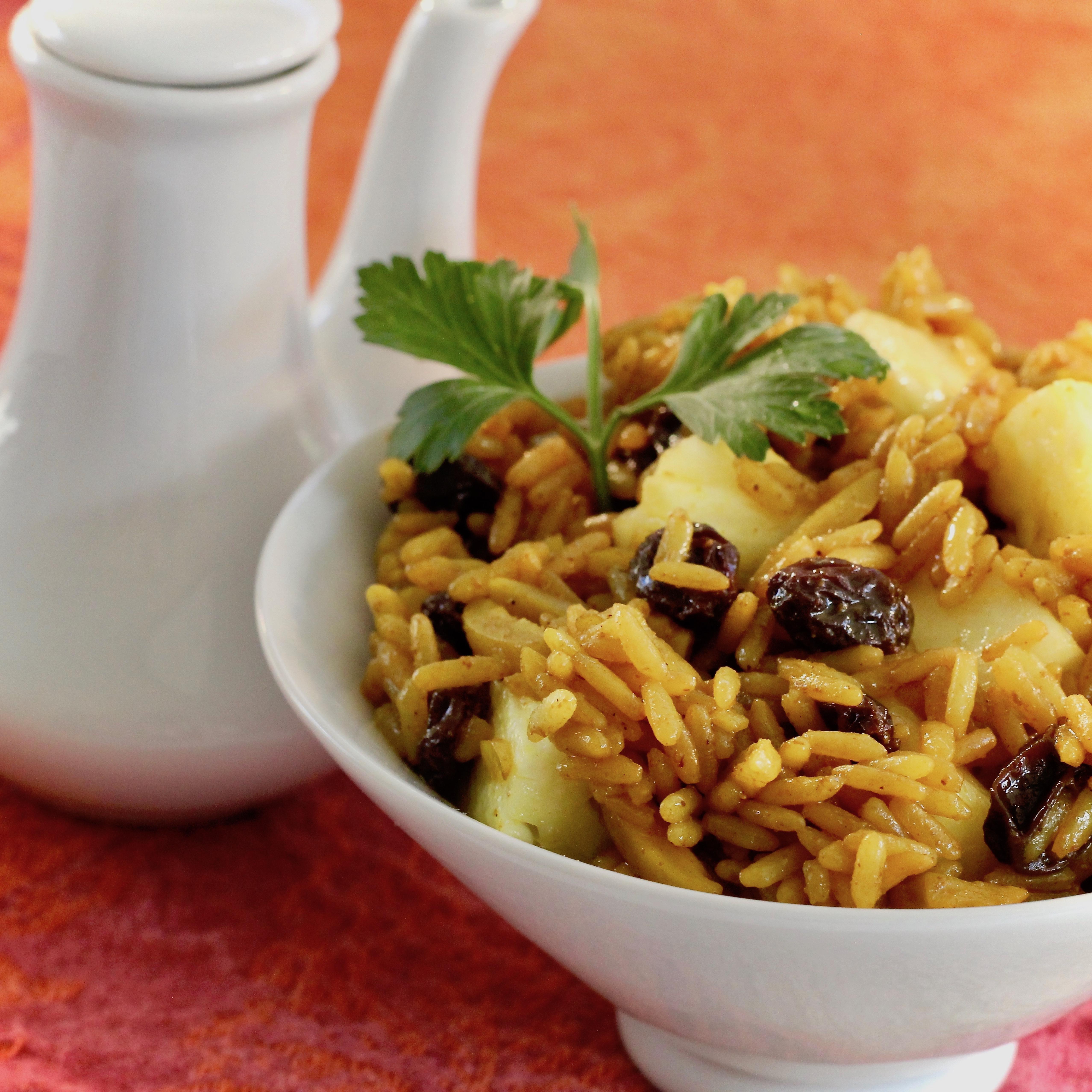 Mediterranean Rice Pilaf lutzflcat