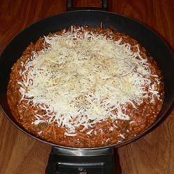 Spaghetti Skillet Dinner MAMALEIGH