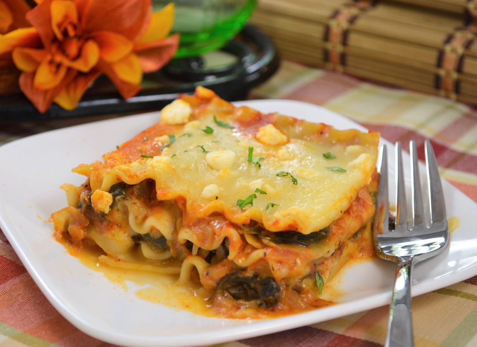 Artichoke Spinach Lasagna DMCCRACKEN