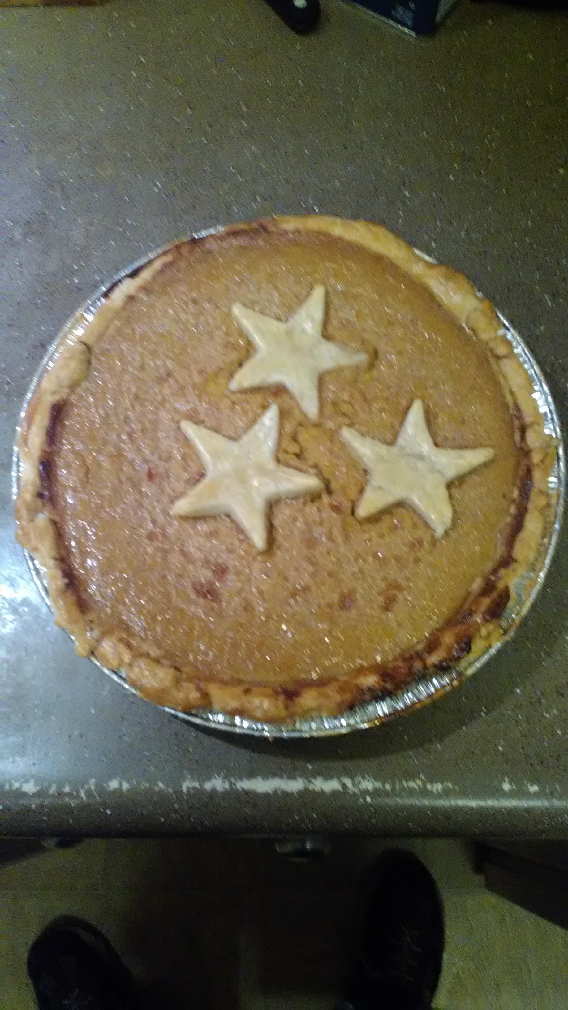 Homemade Fresh Pumpkin Pie Darold Hinds