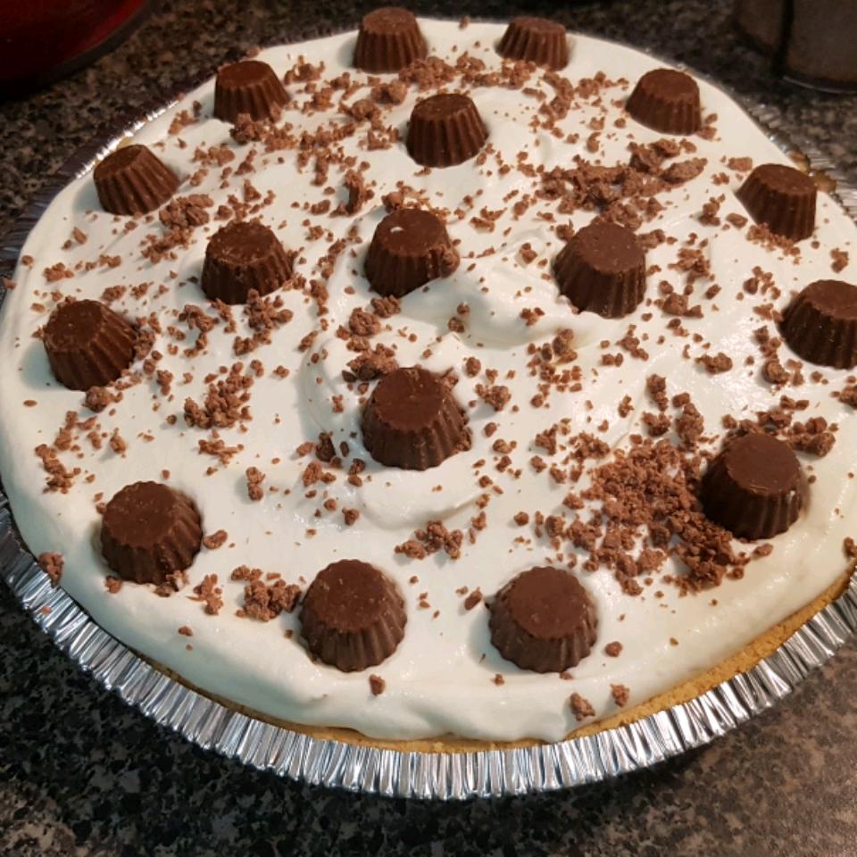 No-Bake Peanut Butter/Chocolate Pie