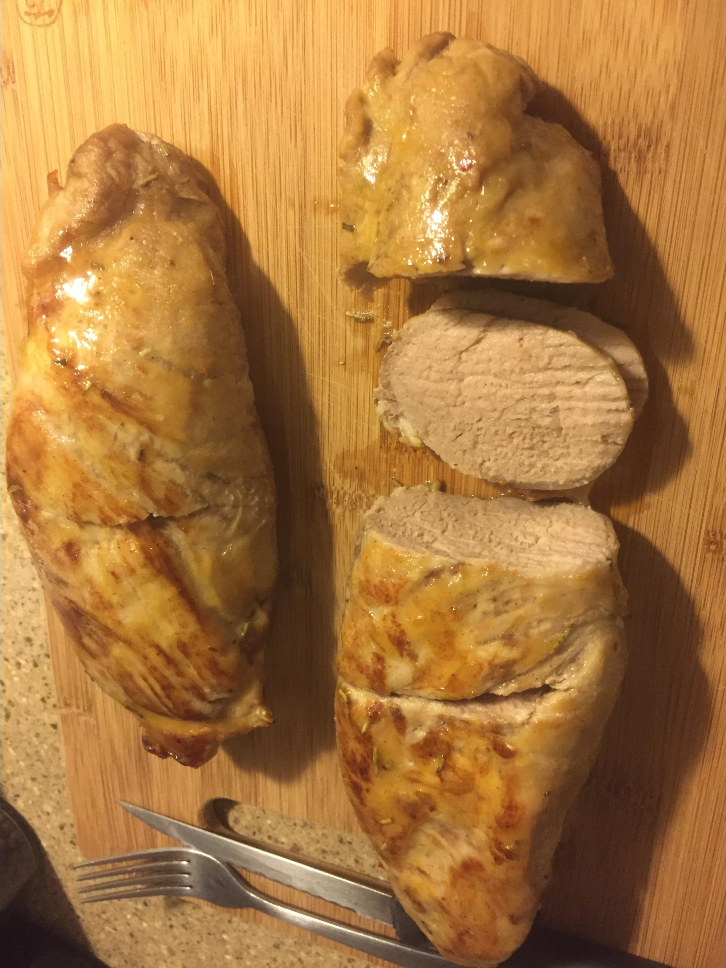 Maple-Brined Pork Loin