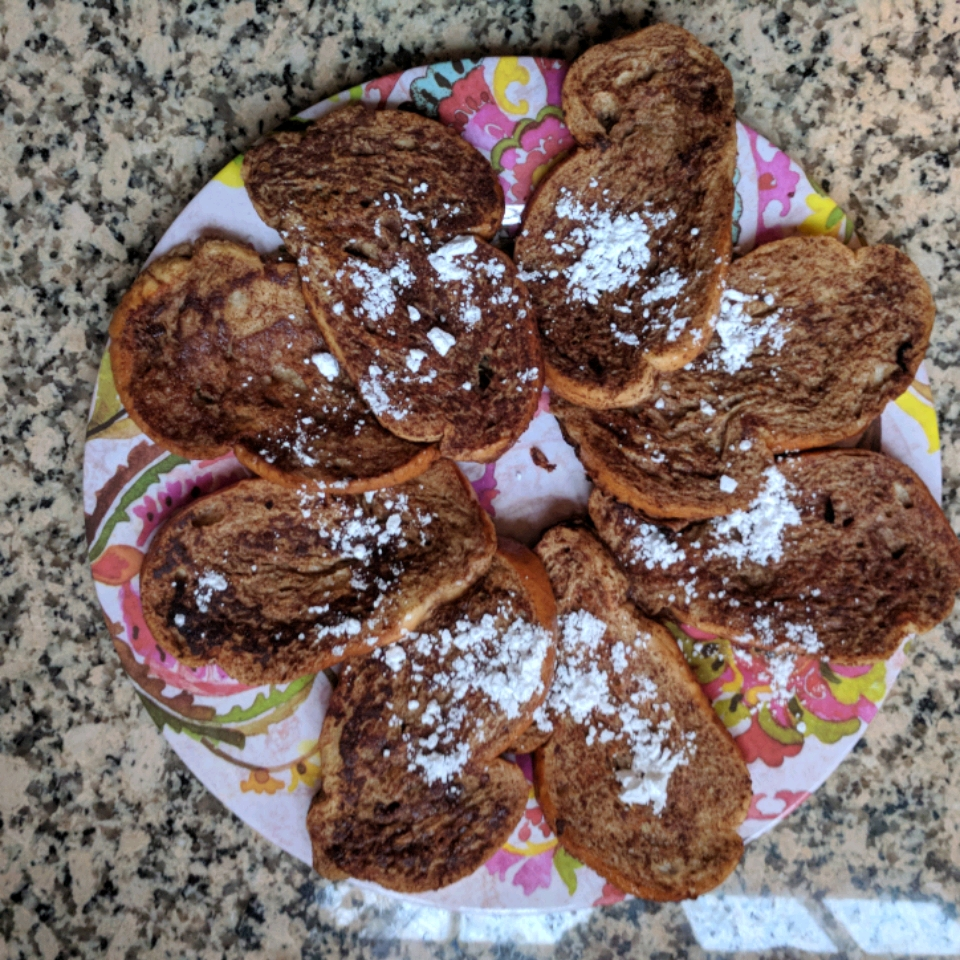 Eggnog French Toast Vic Colon