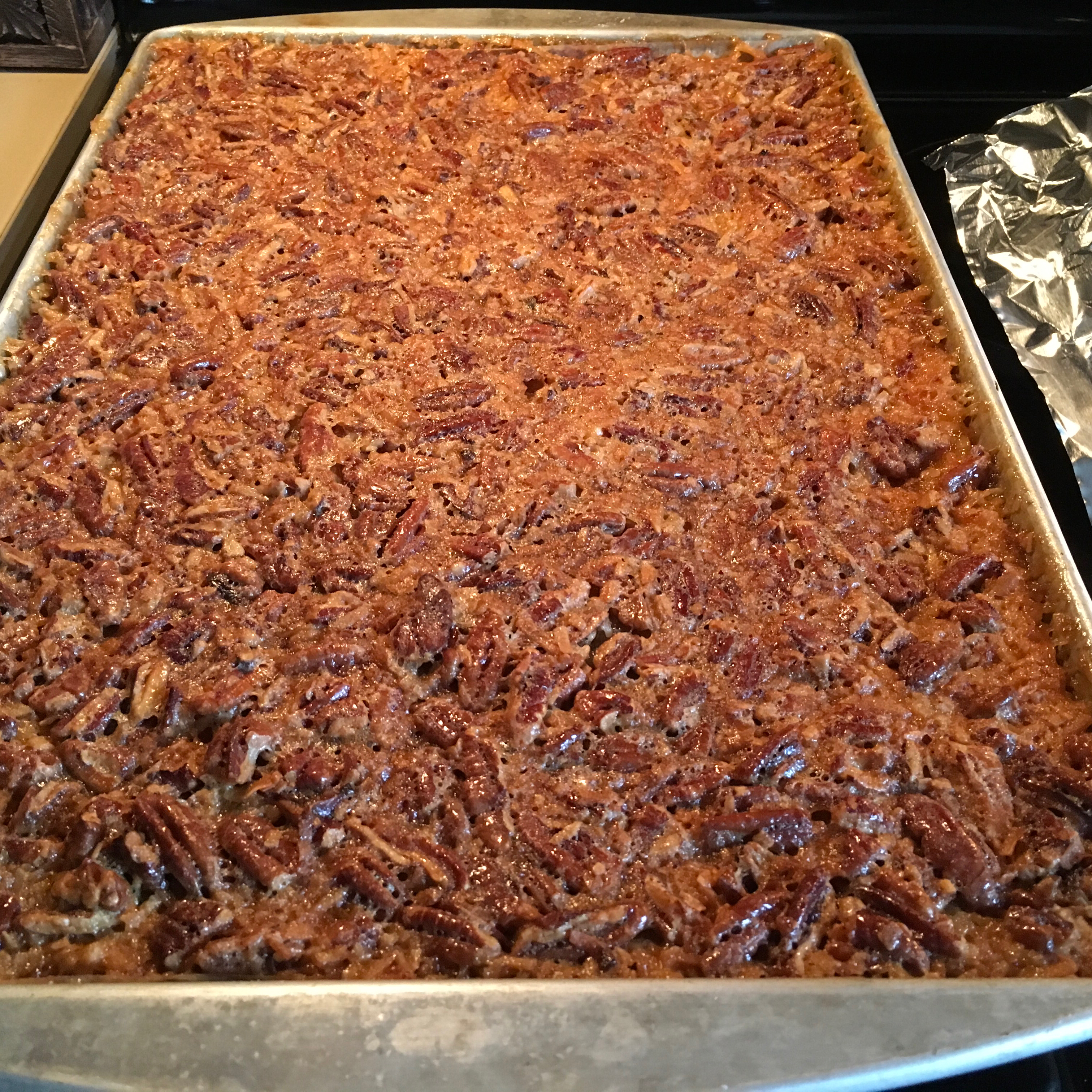 Easy Pecan Pie Bars Lori Andrews Carpenter