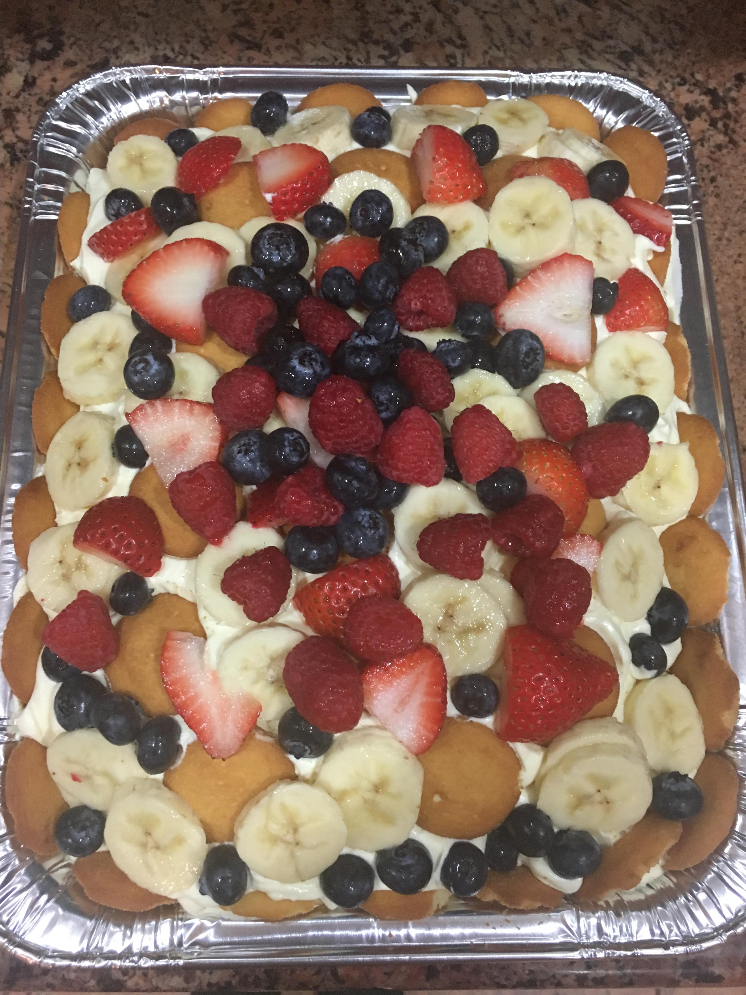 Banana Pudding Surprise